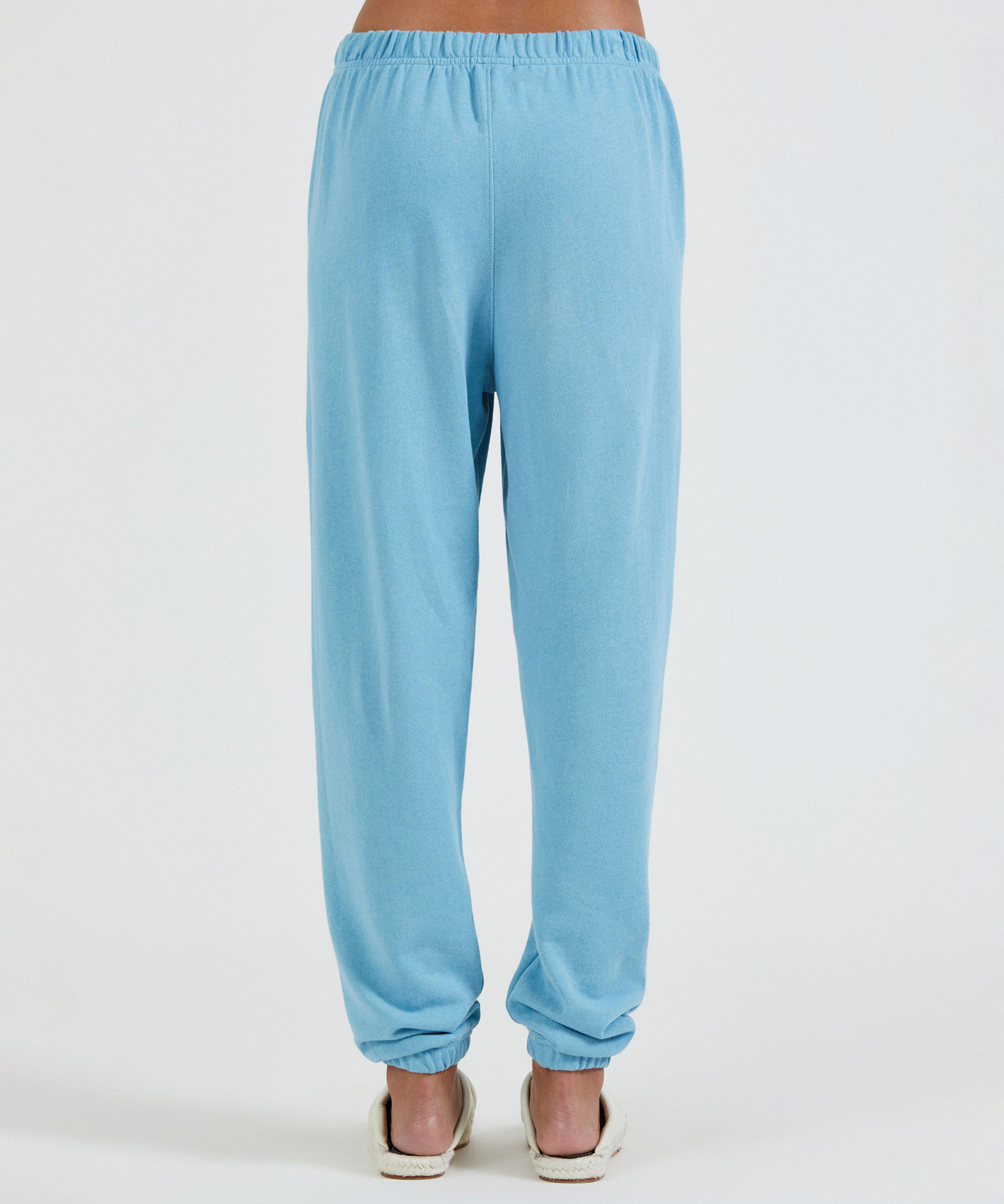 French Terry Pull-On Pant - Ocean Blue 3