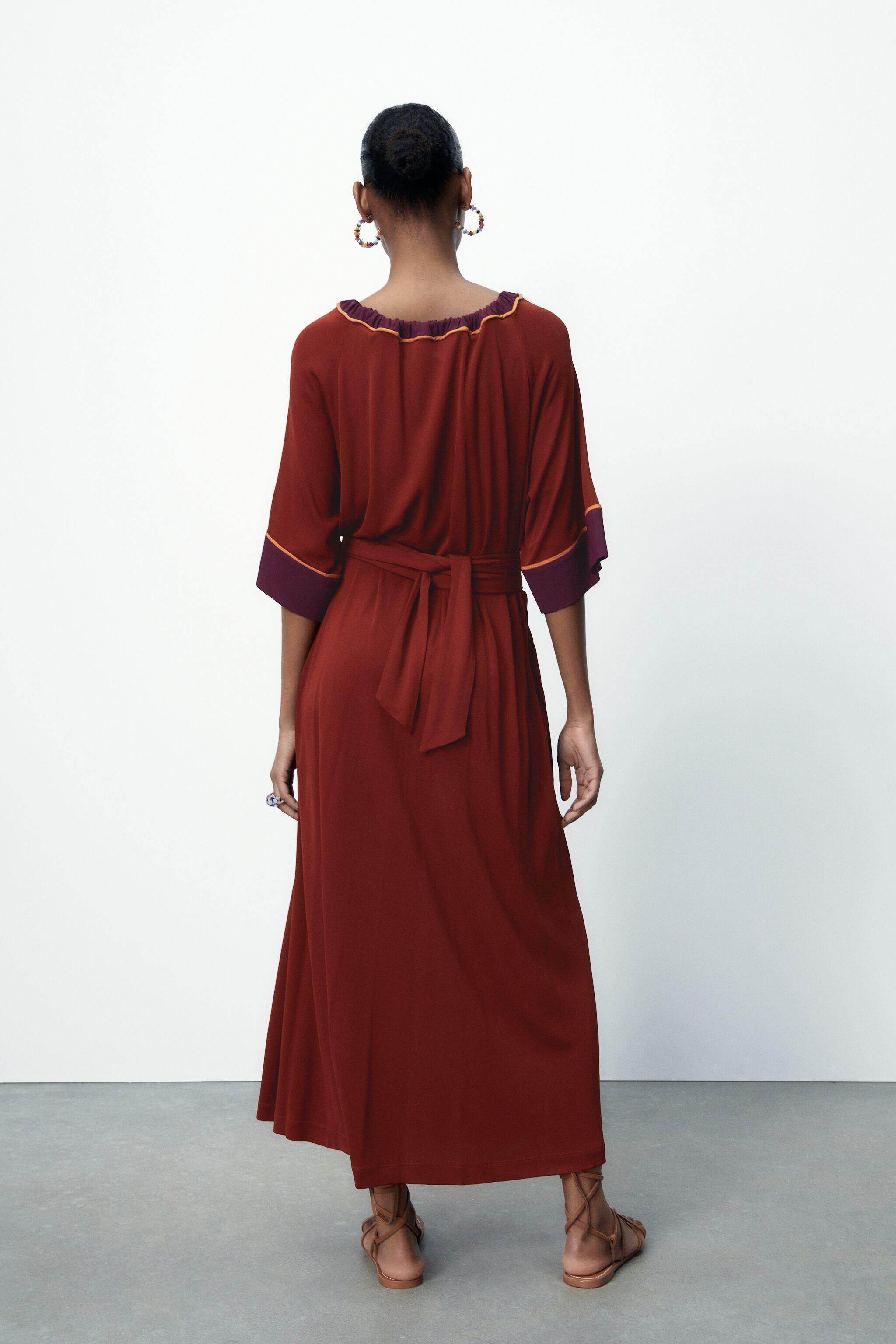 LIMITED EDITION CONTRASTING DRESS 5