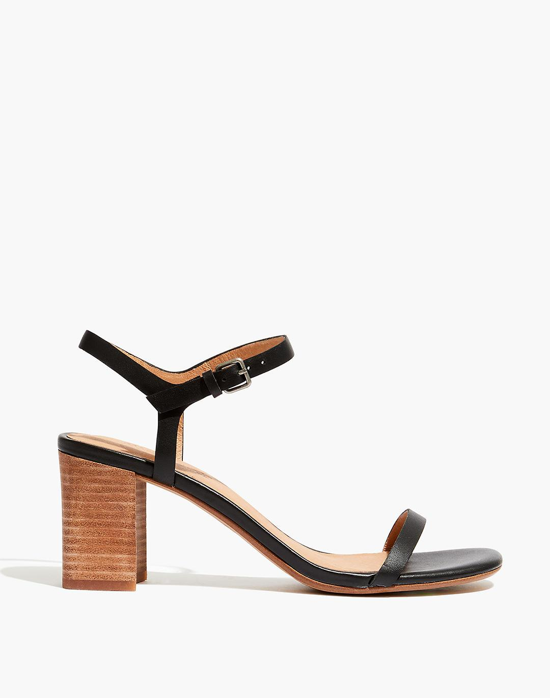 The Holly Ankle-Strap Sandal in Leather 1