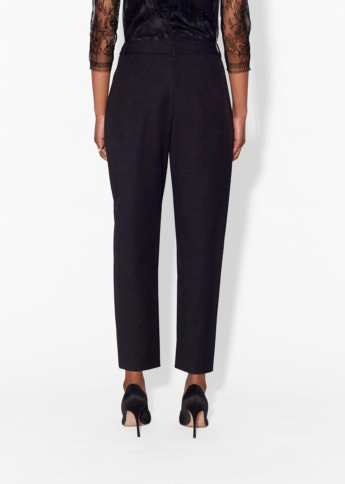 TAPERED PANT IN SUPER FINE WOOL 3