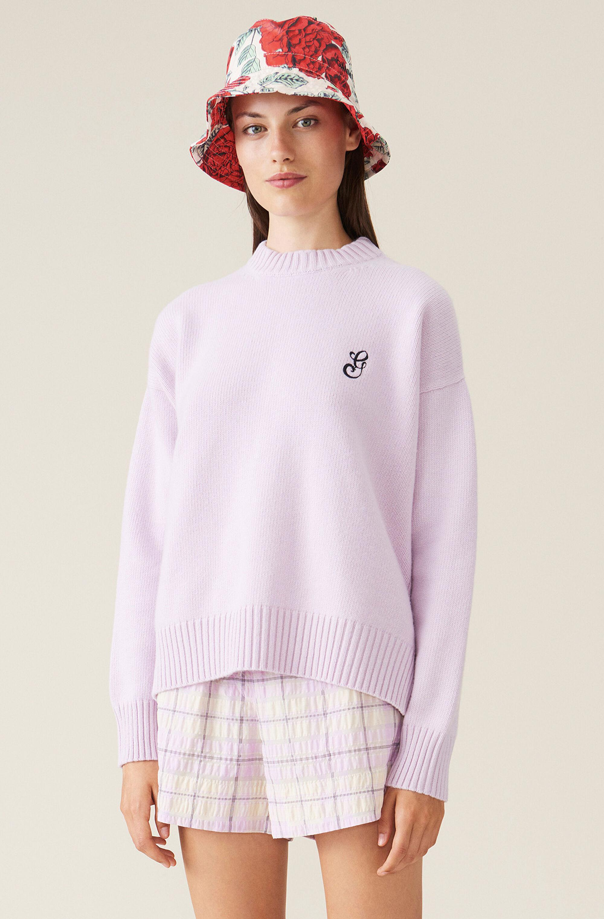Cashmere Mix Knit Pullover