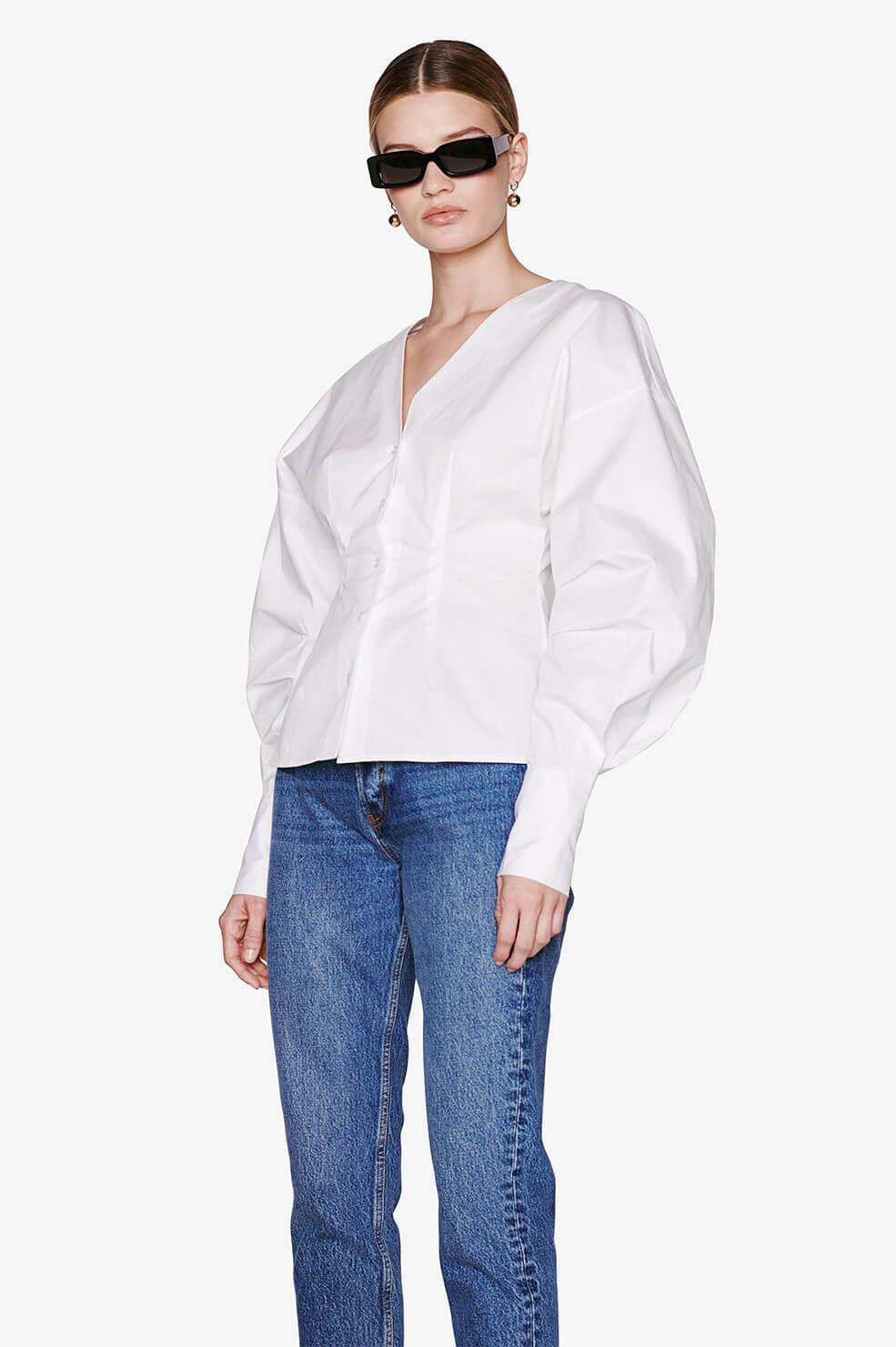 Lindsey Top - White