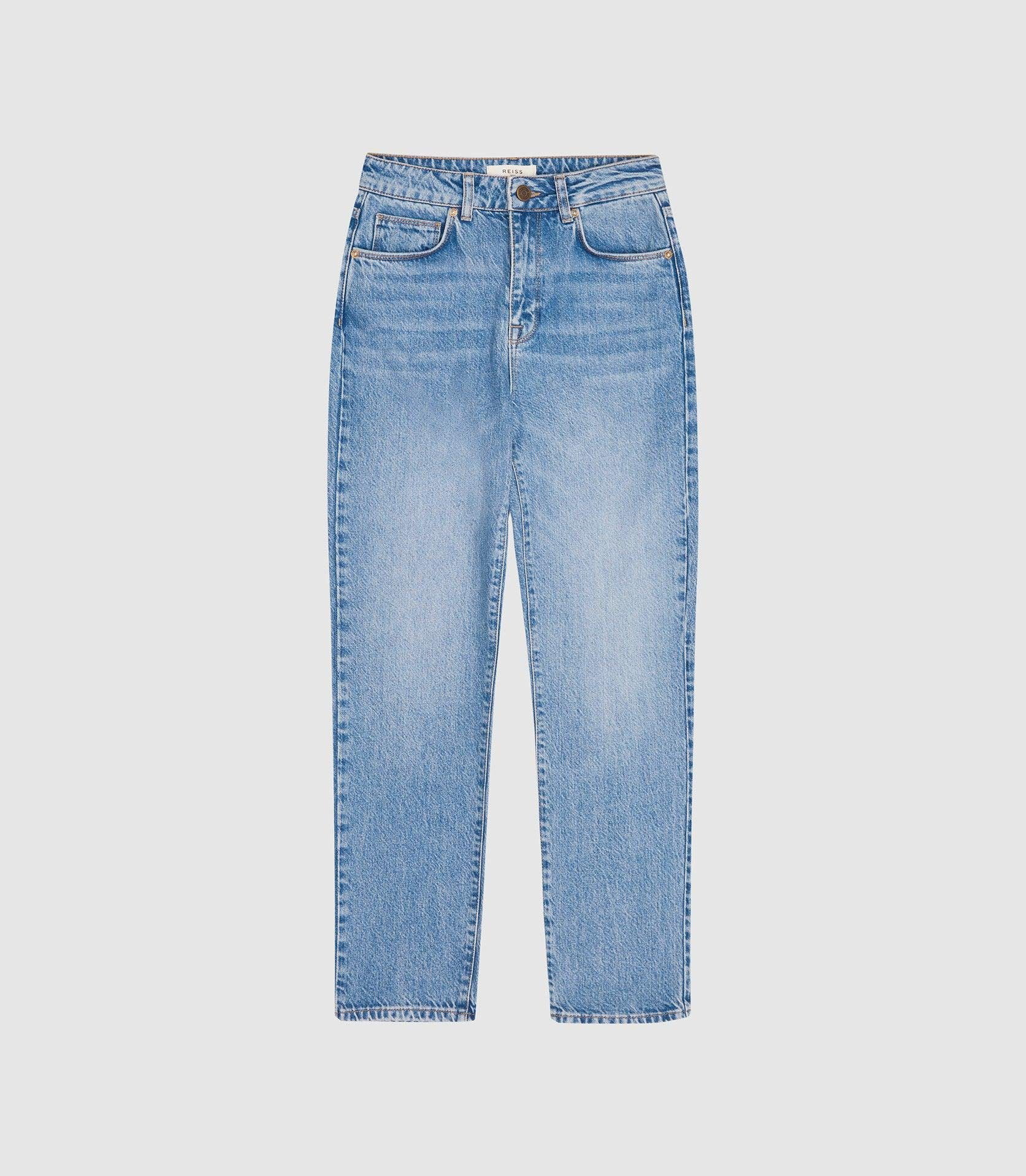 RAYE - HIGH RISE SLIM STRAIGHT FIT JEANS 3