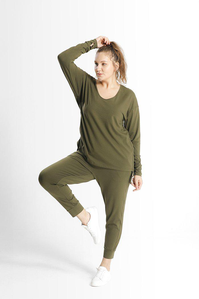 Kathy Top // Army Green 4