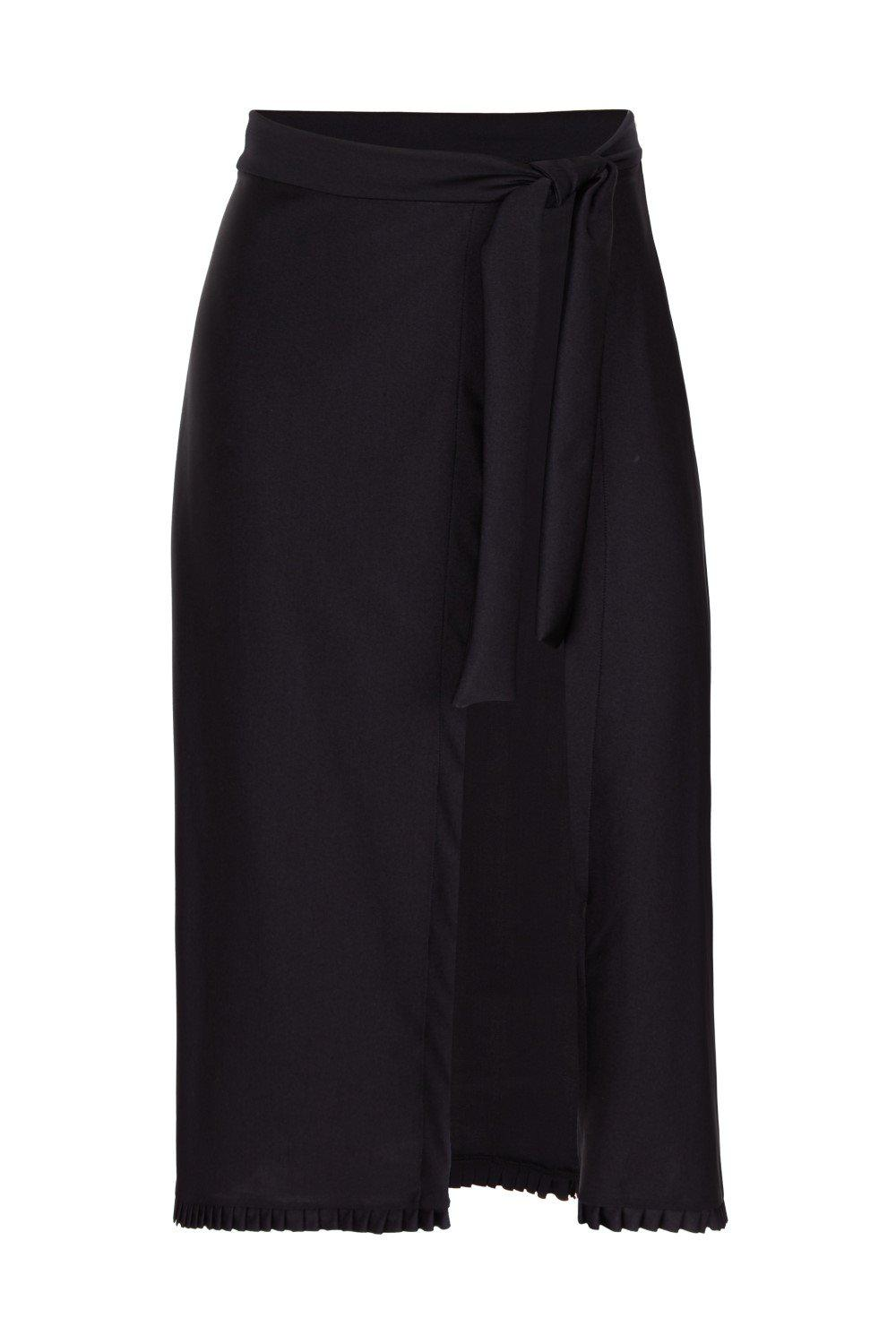 Fruits Exotiques Solid Pareo Skirt with Frills 3