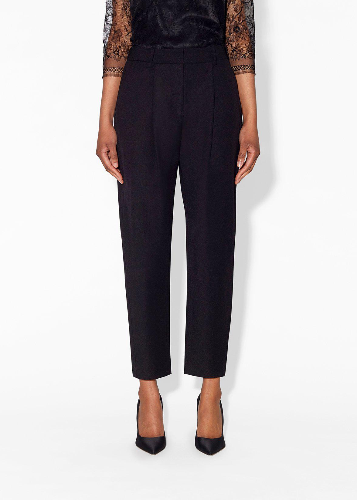 TAPERED PANT IN SUPER FINE WOOL 2