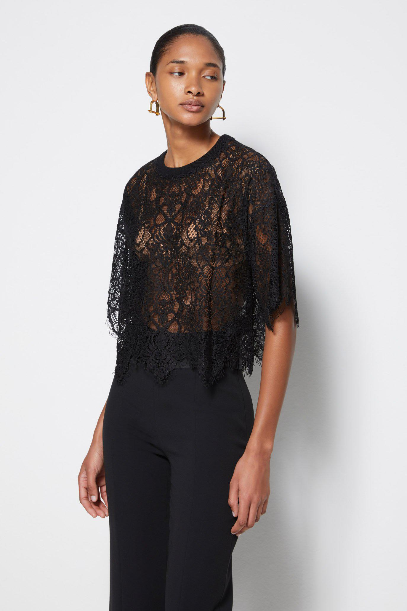 Signature Corded Lace Top 3