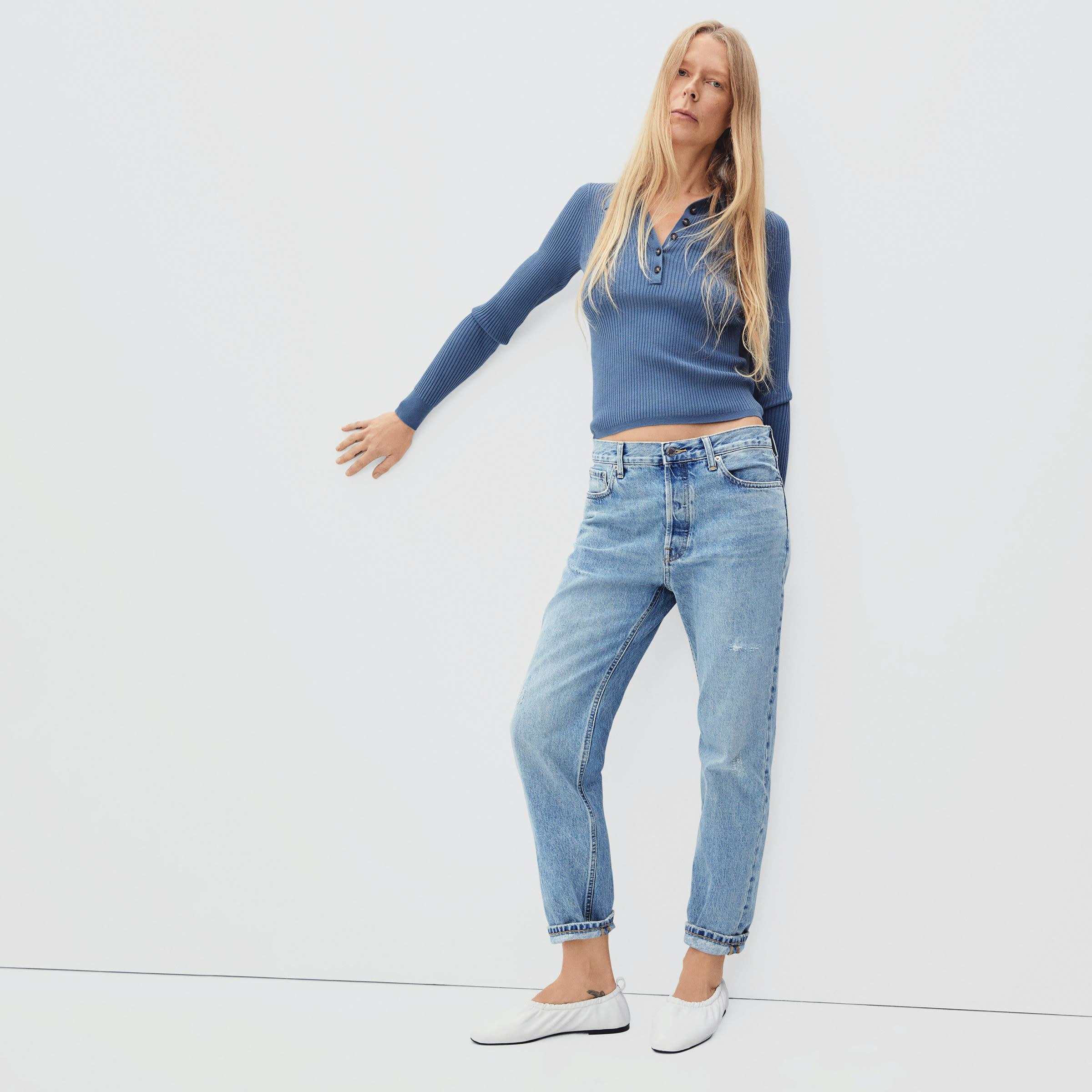 The '90s Slouch Jean
