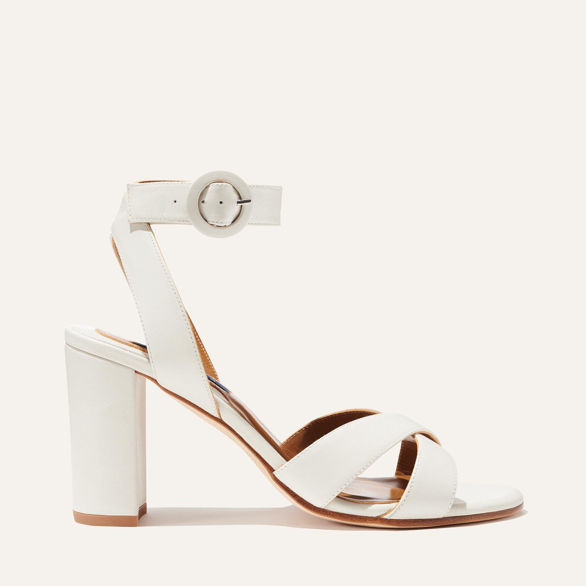 The Uptown Sandal - Ivory