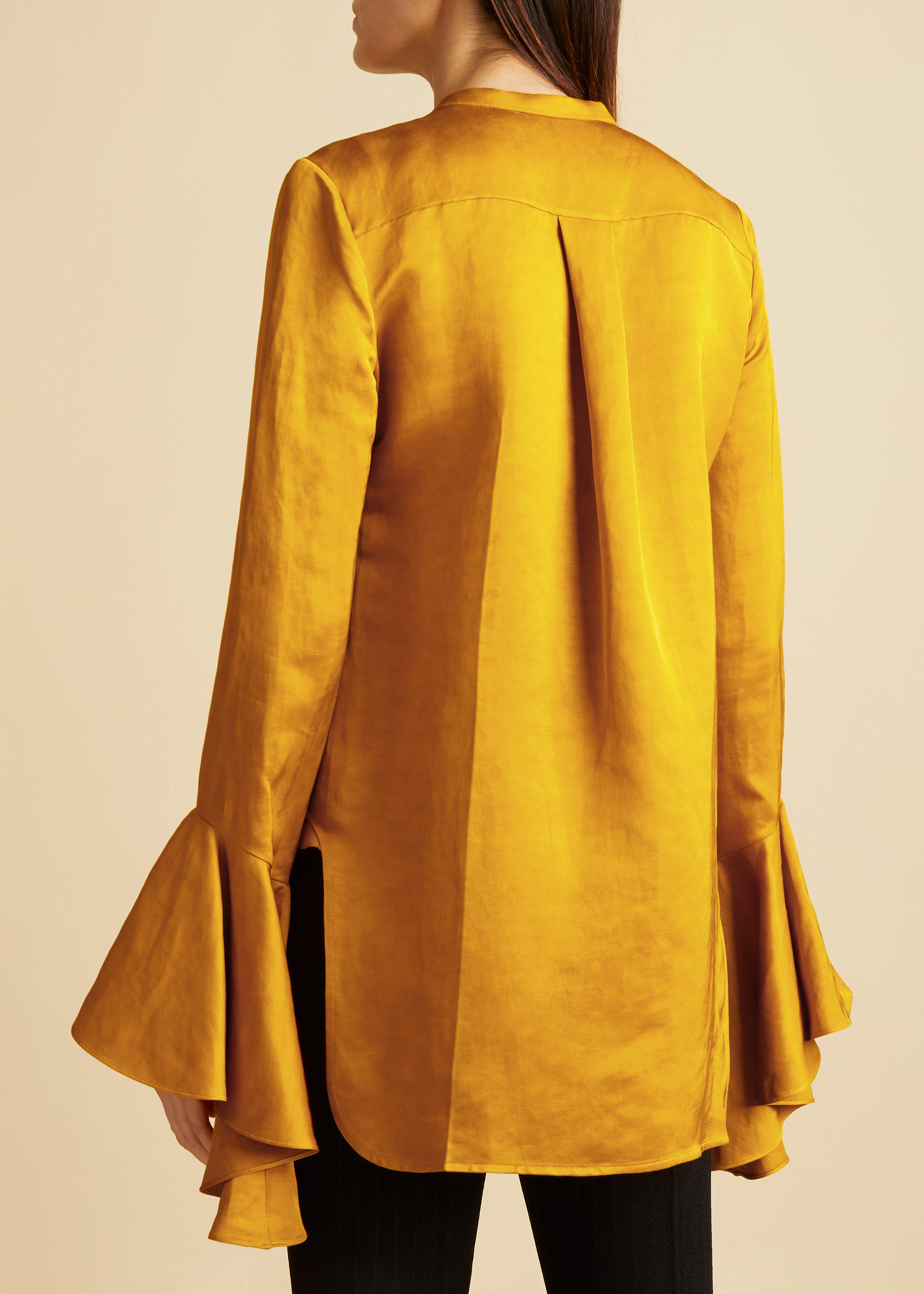 The Keith Top in Marigold 2
