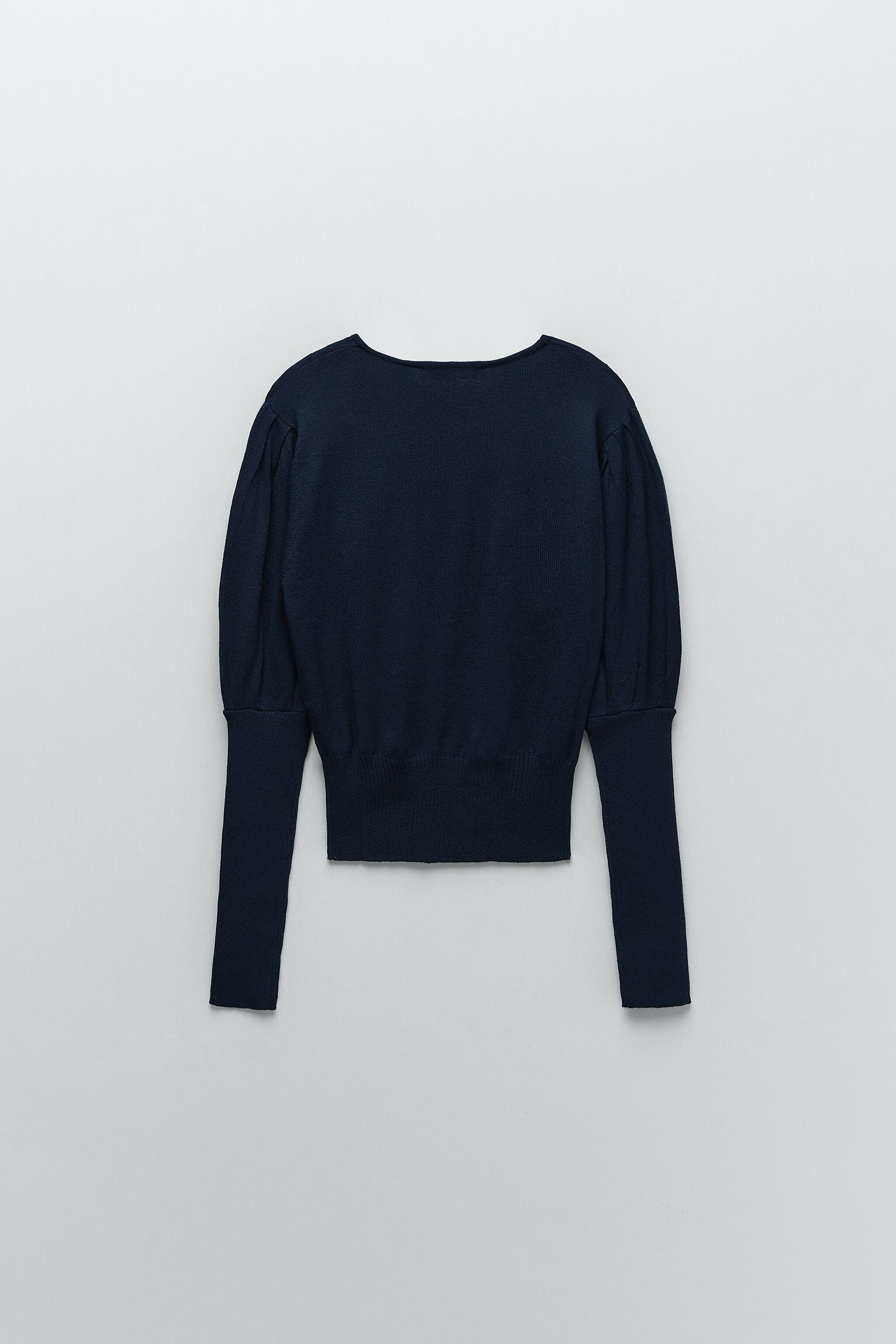 CUT OUT KNIT SWEATER 5