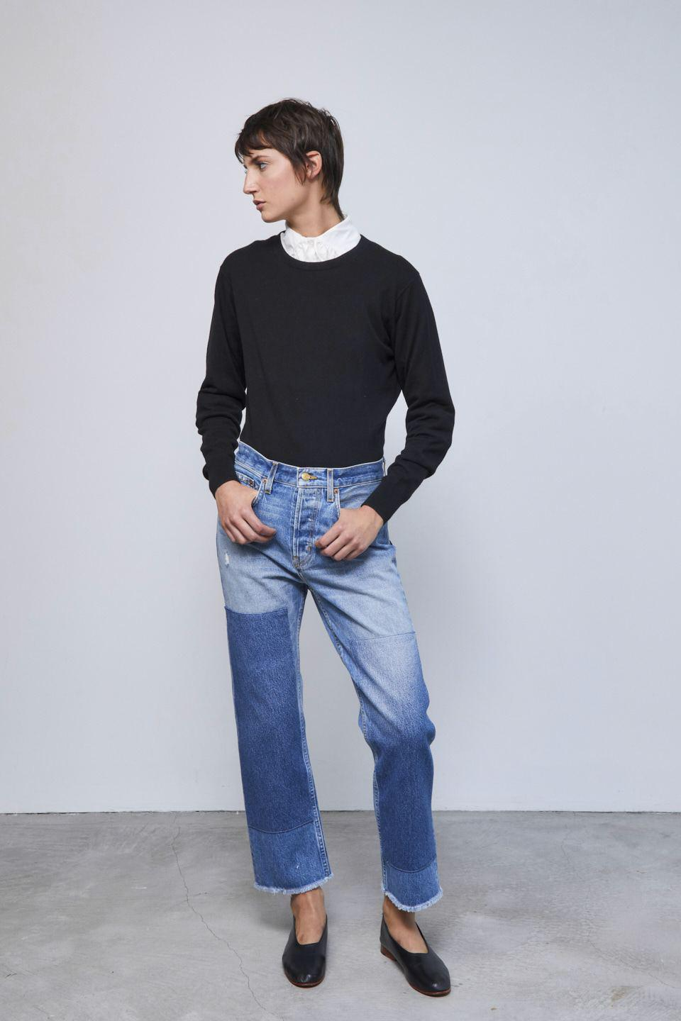 Marcel Relaxed Straight Jean Murray Vintage Patchwork No.2 2