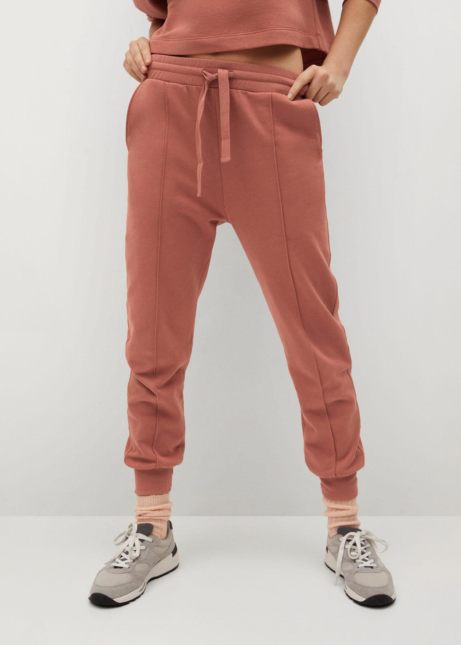 Sustainable cotton jogger pants