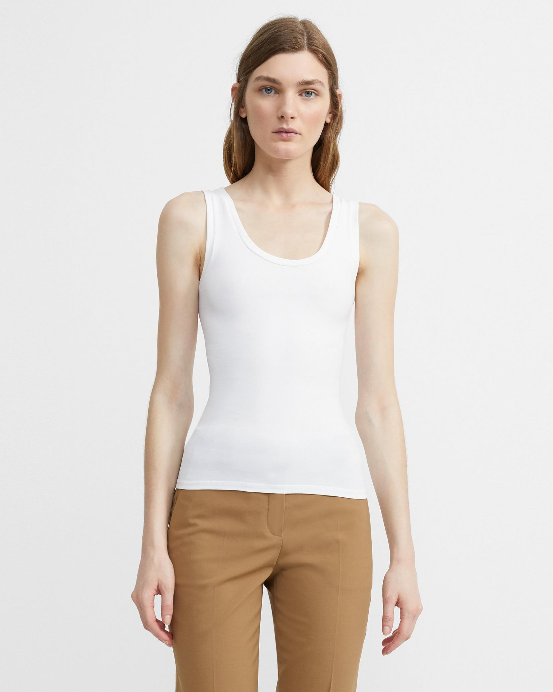 Tank Top in Stretch Jersey 4