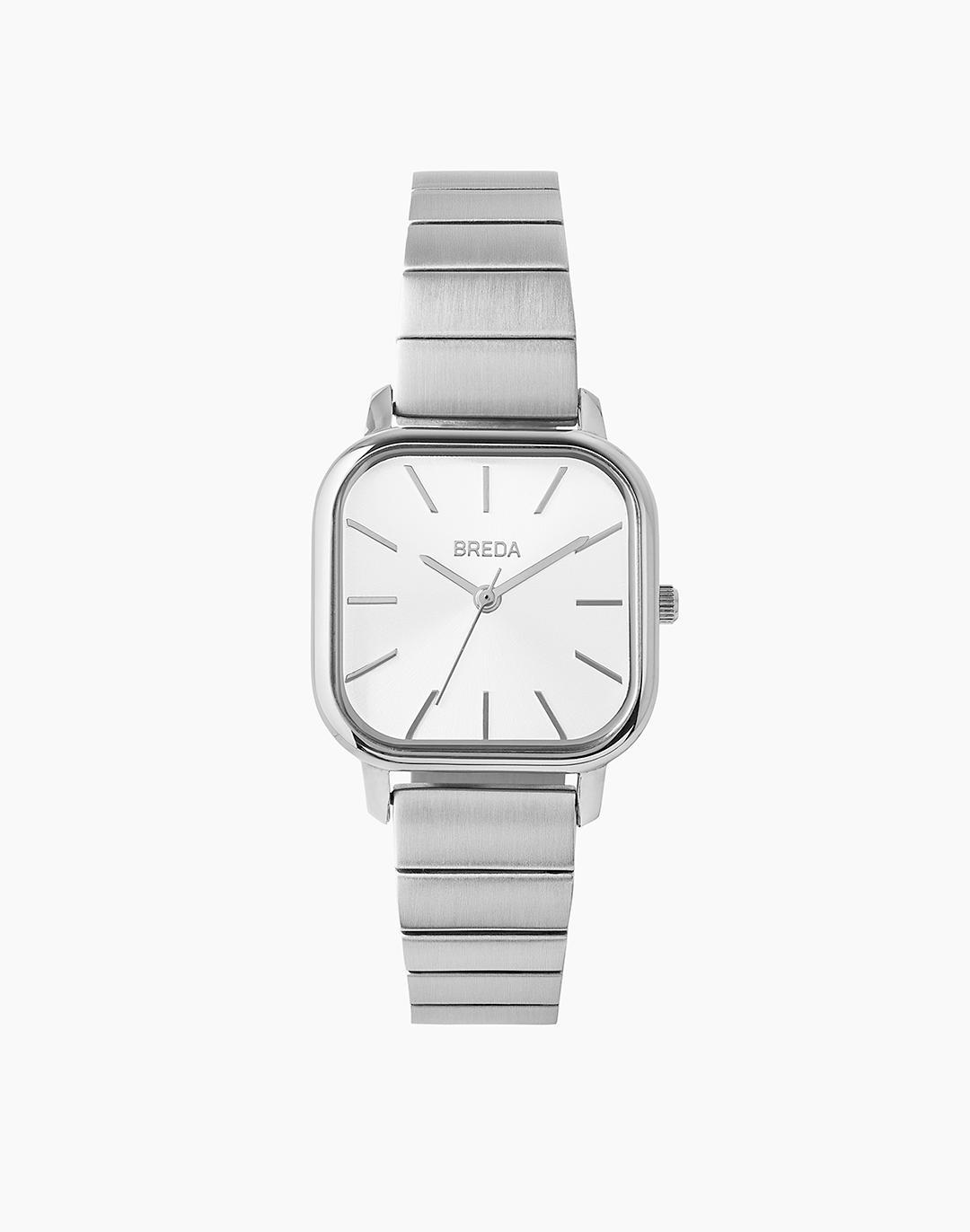 Breda Silver-Plated Esther Watch