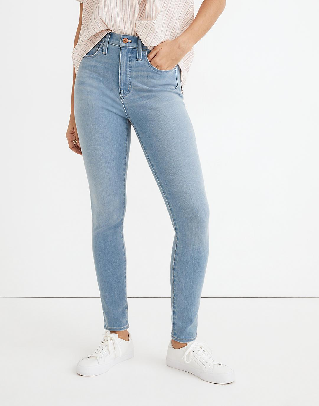 """Tall 10"""" High-Rise Roadtripper Supersoft Jeggings in Mcleod Wash 3"""