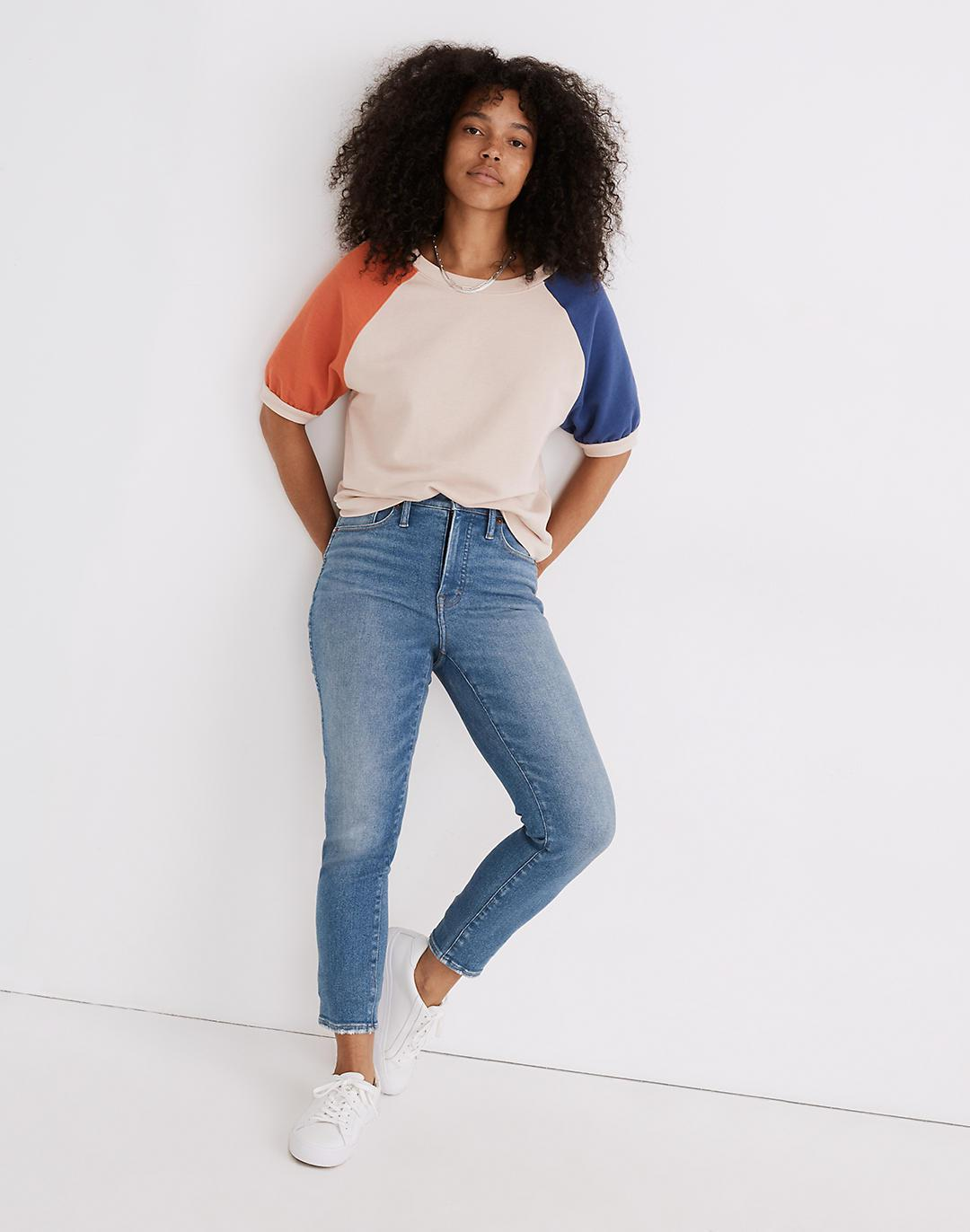 Tall Stovepipe Jeans in Ditmas Wash