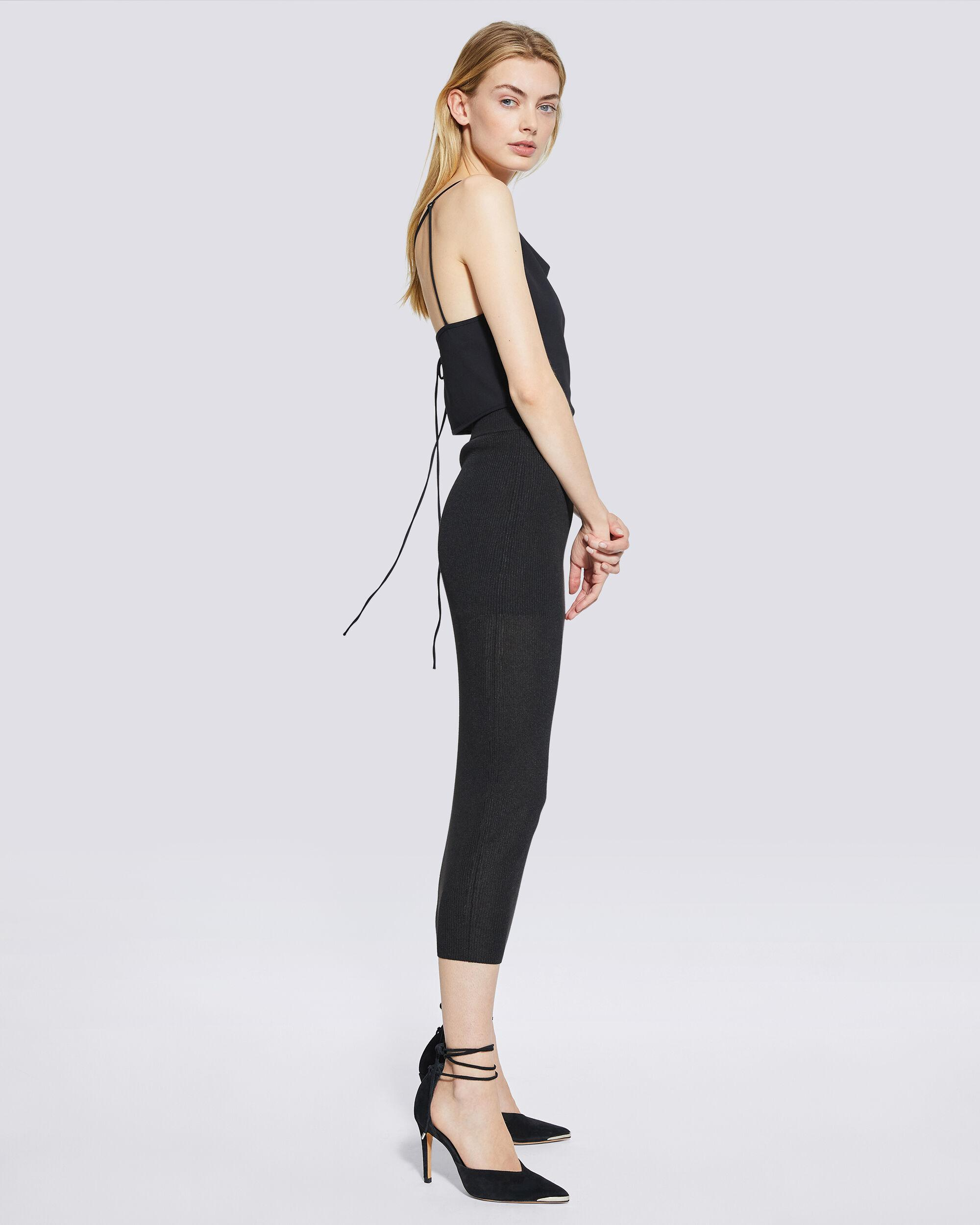 LUNE CROPPED TIE-BACK CAMISOLE 2