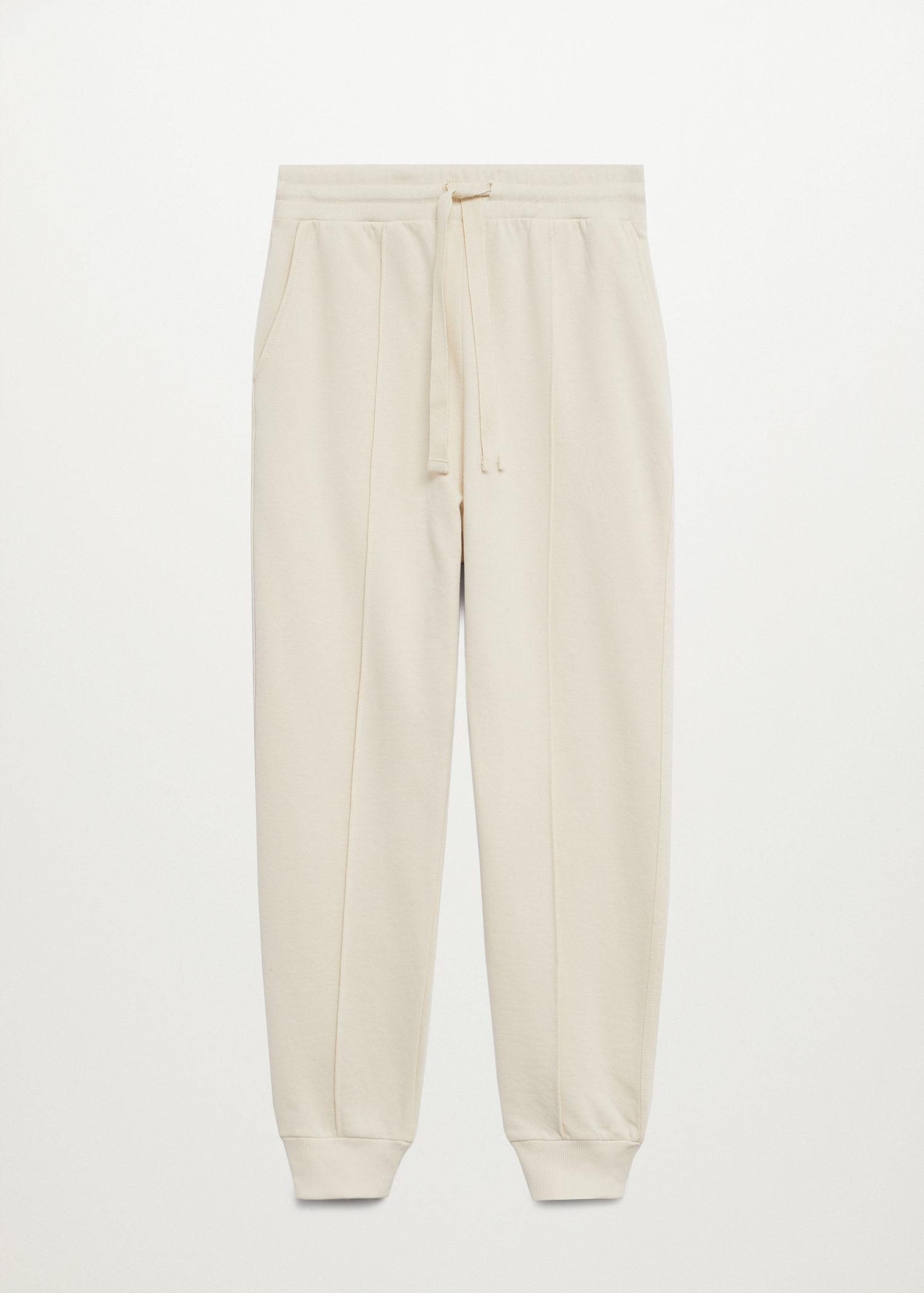 Sustainable cotton jogger pants 7