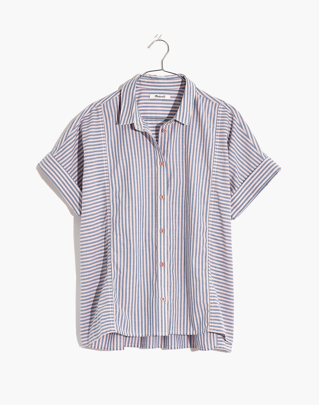 Lakeline Button-Up Shirt in Stripe-Play 3
