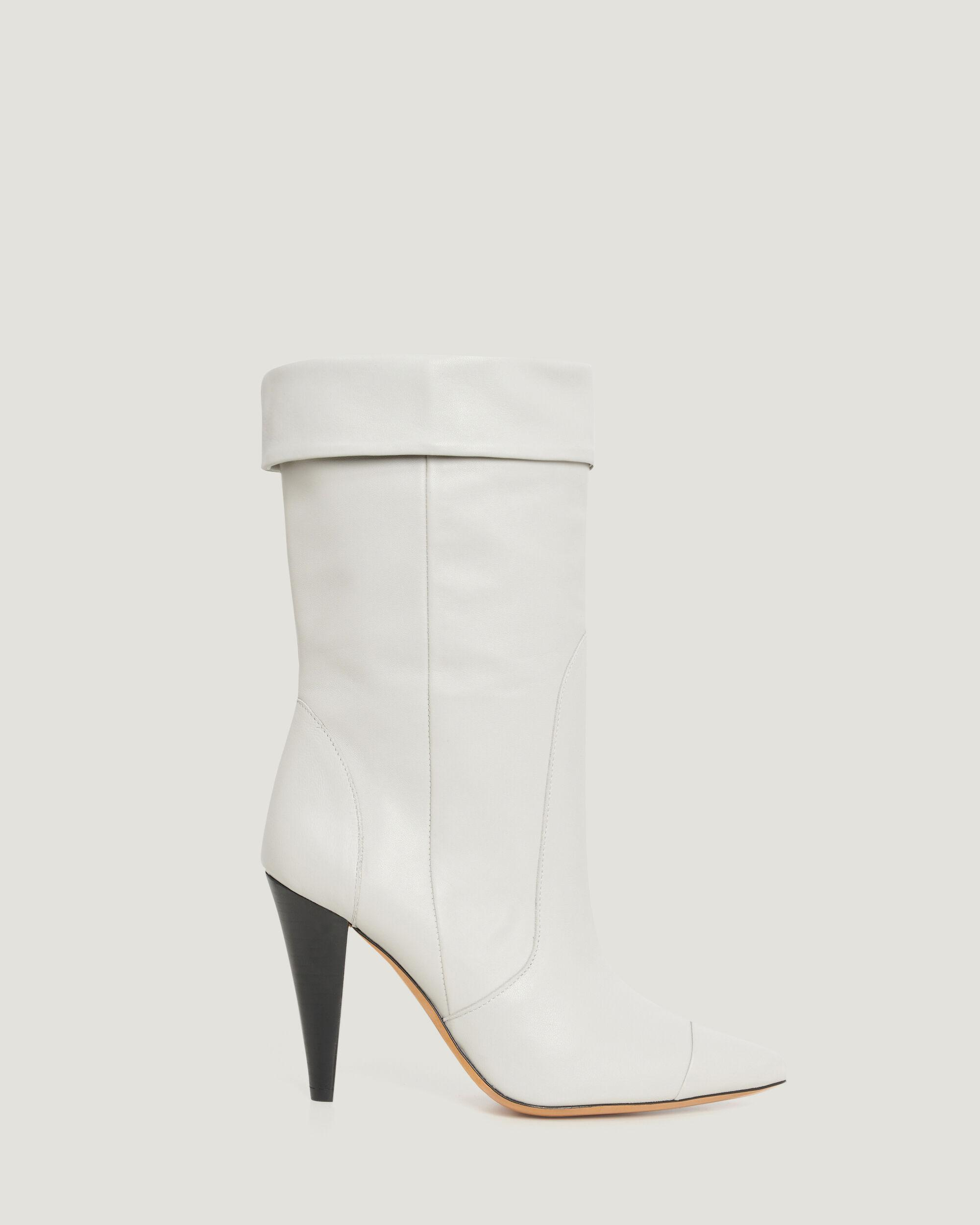 USSEL LEATHER BOOTS