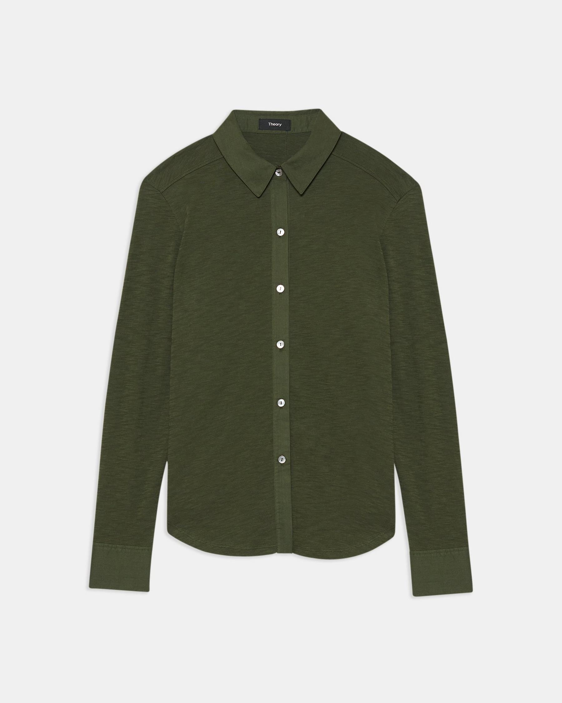 Button Up Shirt in Organic Cotton 5