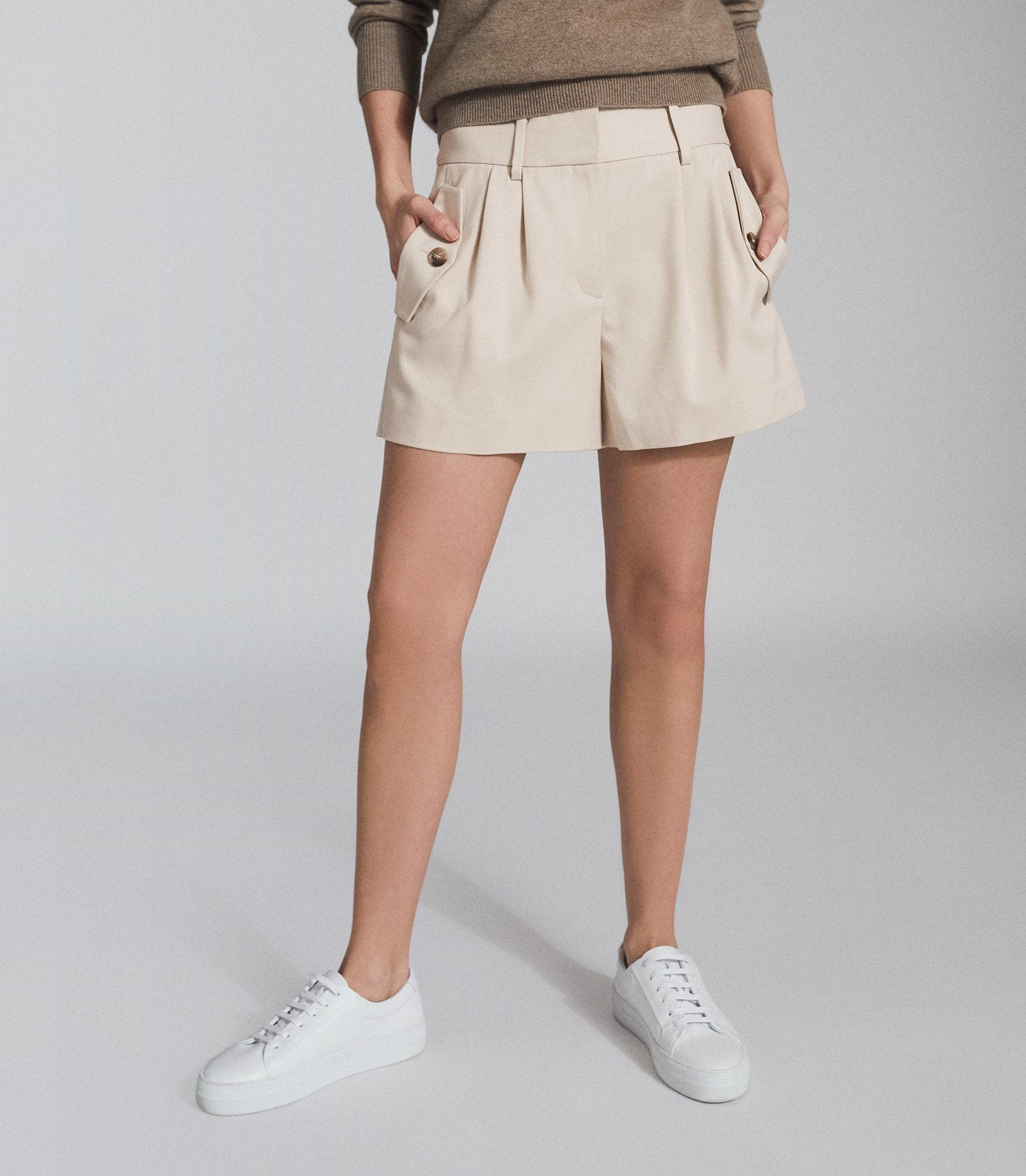 BROOKLYN - POCKET FRONT TAILORED SHORTS 2