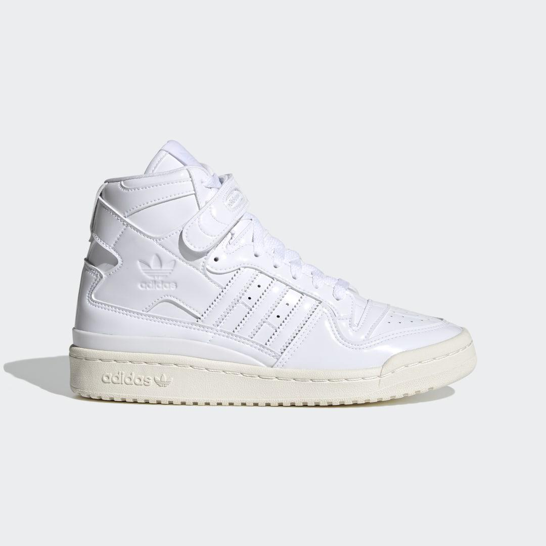 Forum 84 High Shoes White 5