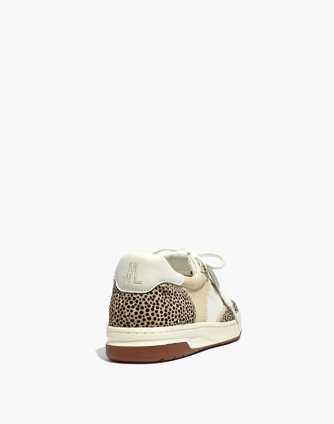 Court Sneakers in Spotted Calf Hair 1