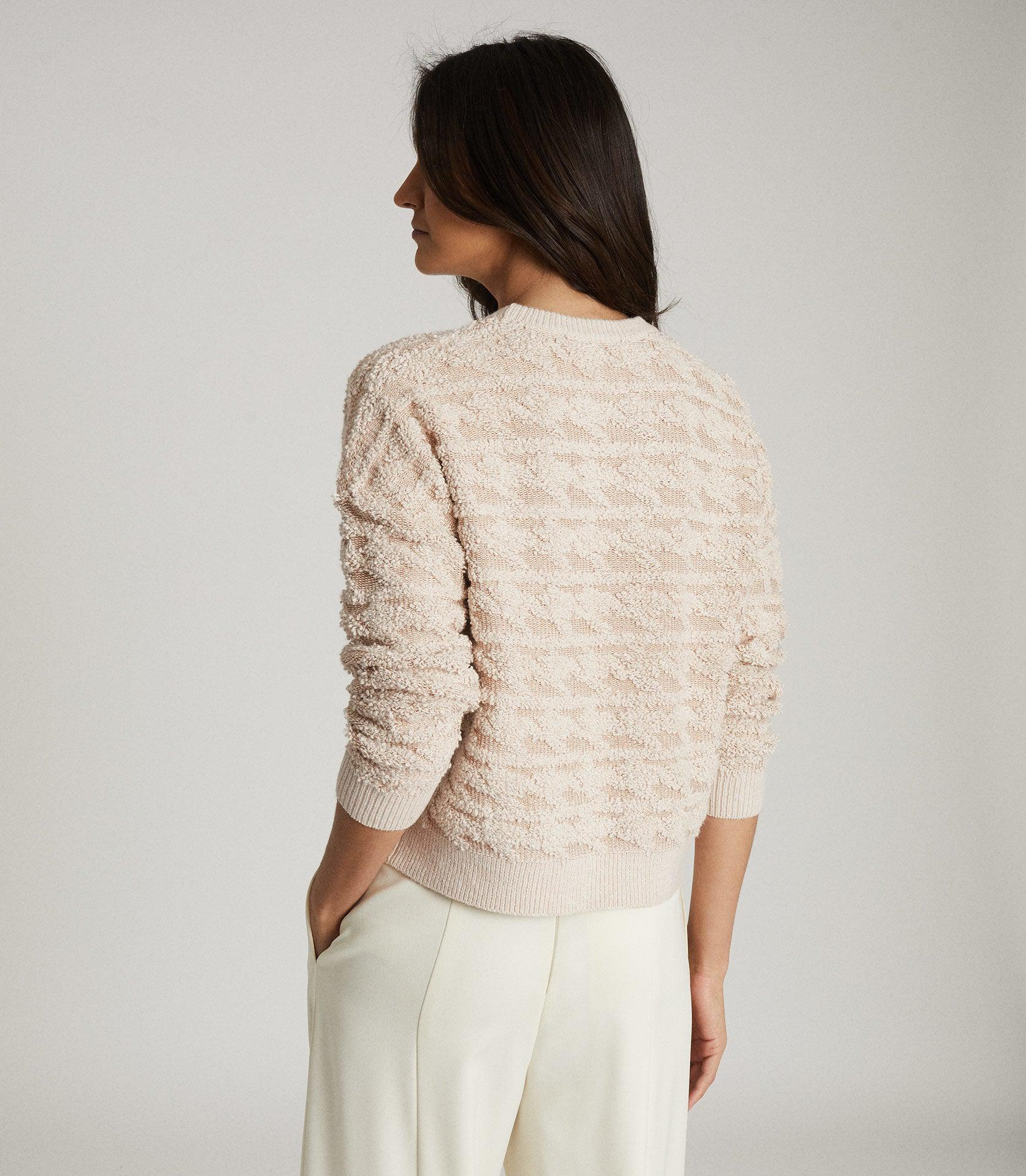 OTTO - TEXTURED PATTERNED JUMPER 2