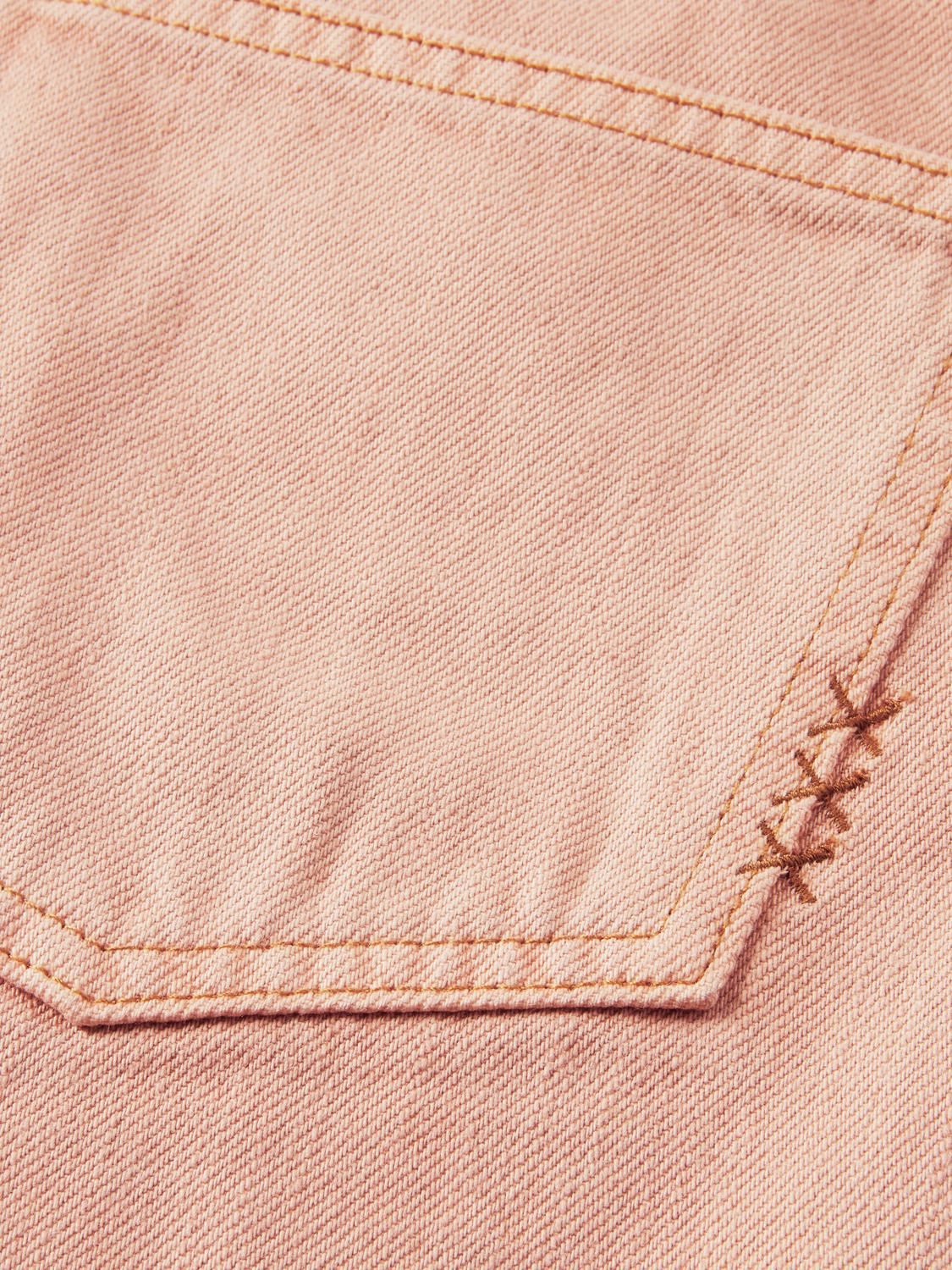 Tailored cotton jeans — Pastel Dyes 7