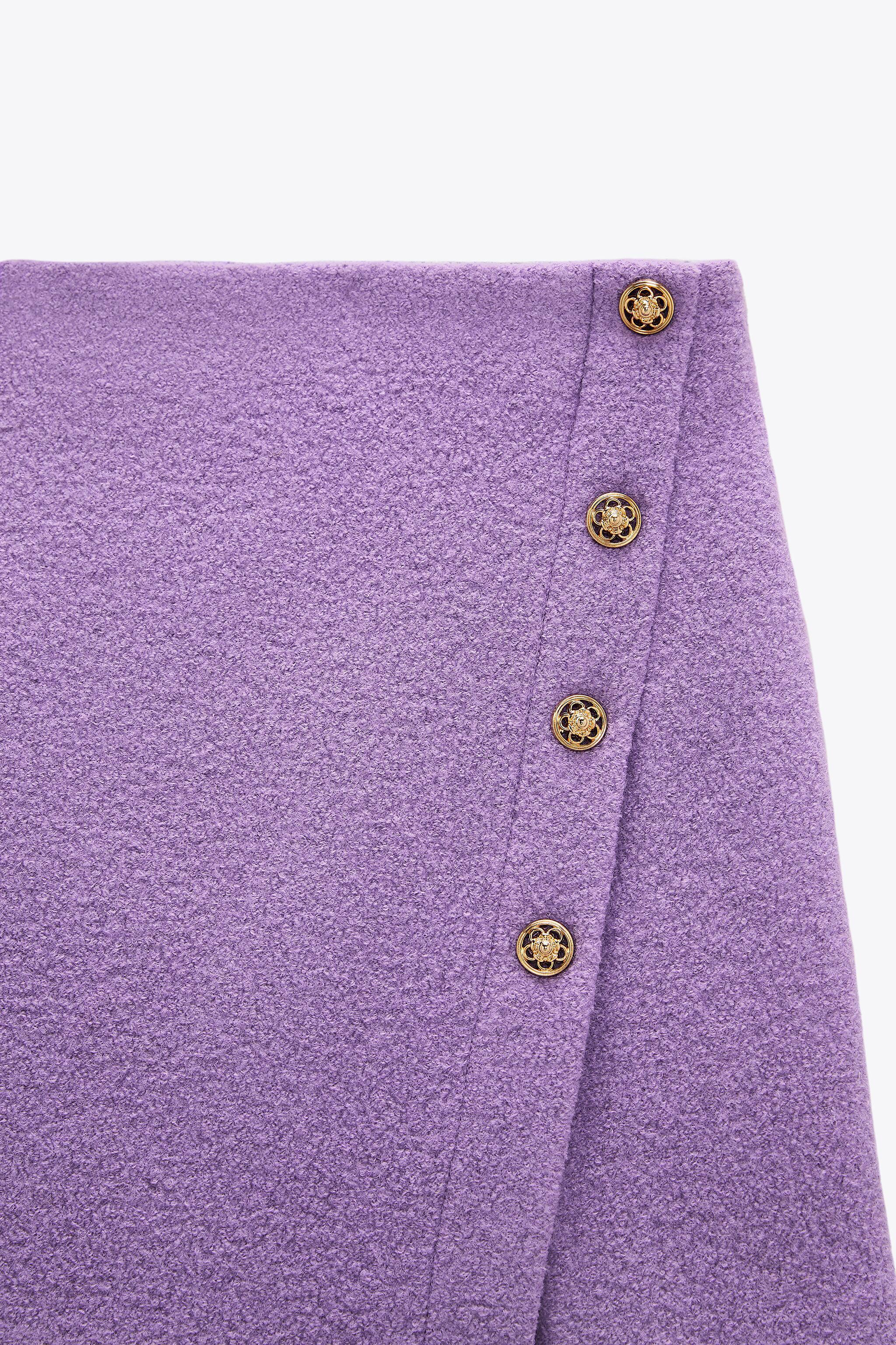 LIMITED EDITION BUTTONED SKIRT 5
