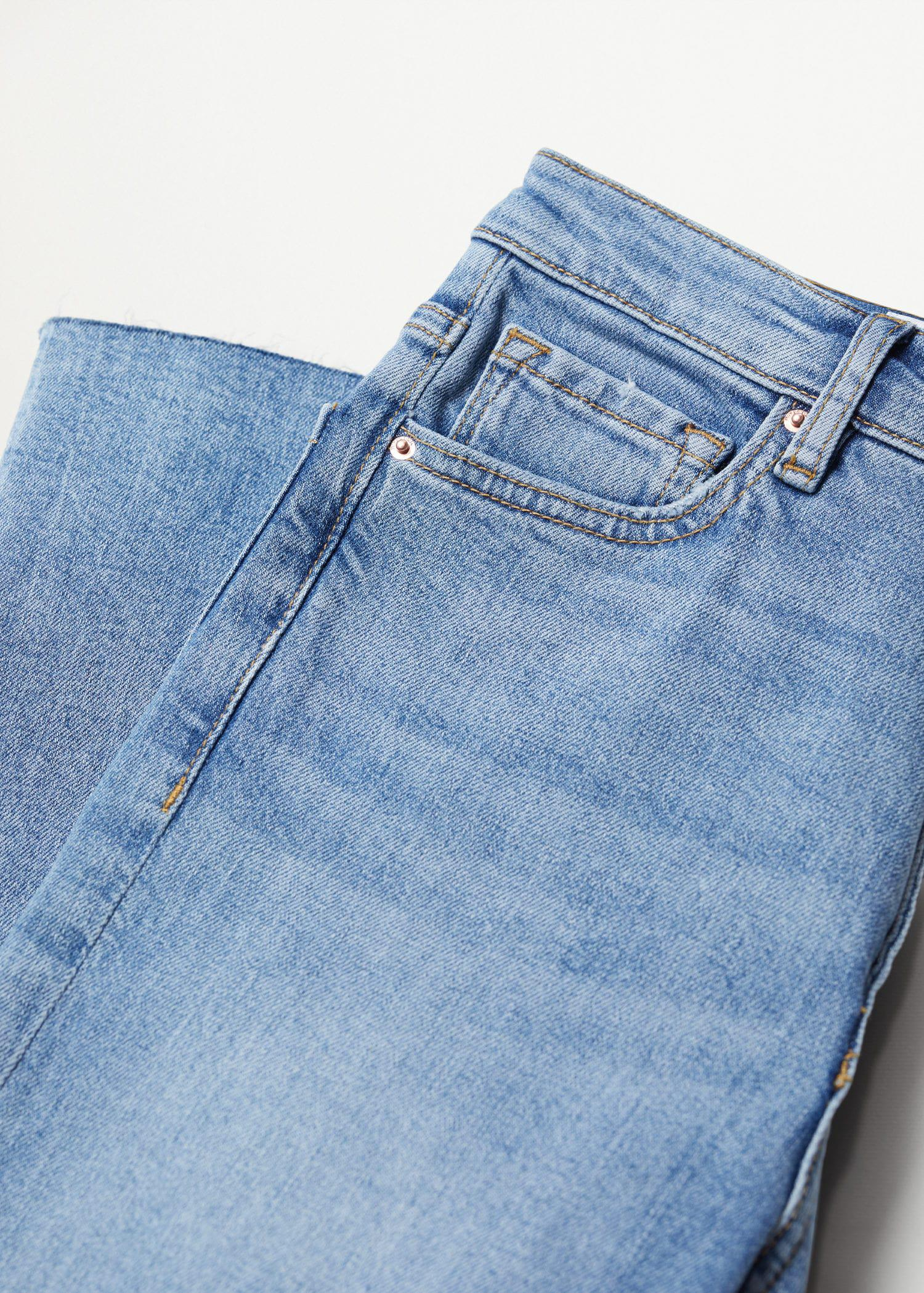 Crop flared jeans 6