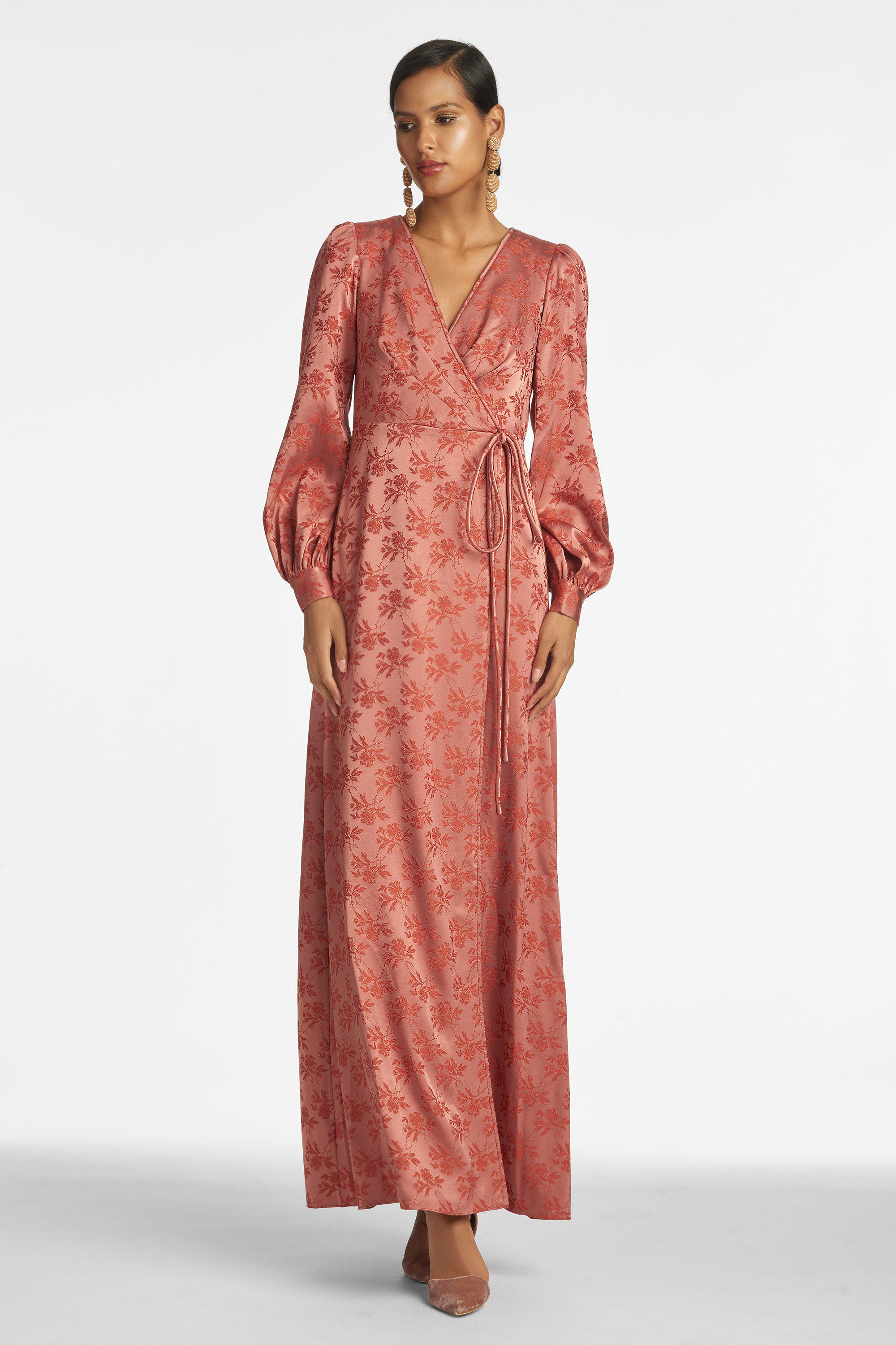 Dorothea Gown - Old Rose/Terracotta