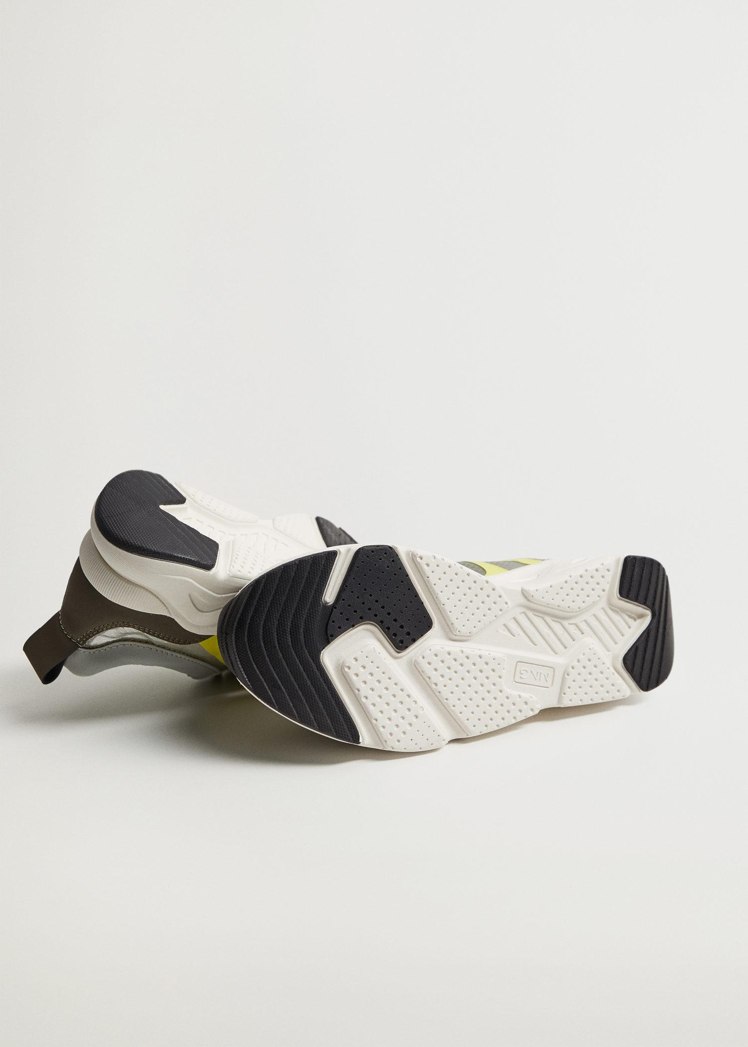 Shoes with transparent panels 3