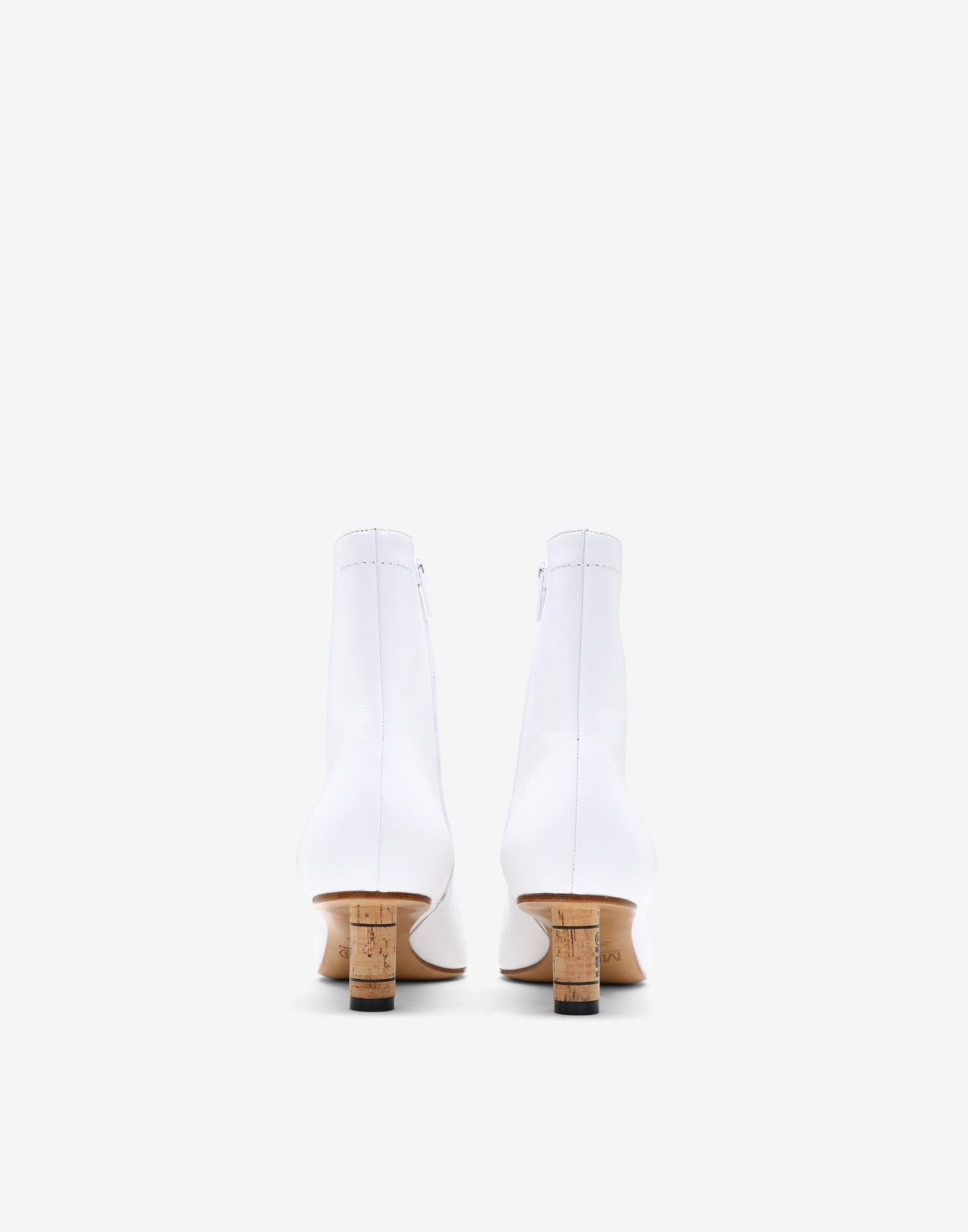 Wine cork ankle boots 2