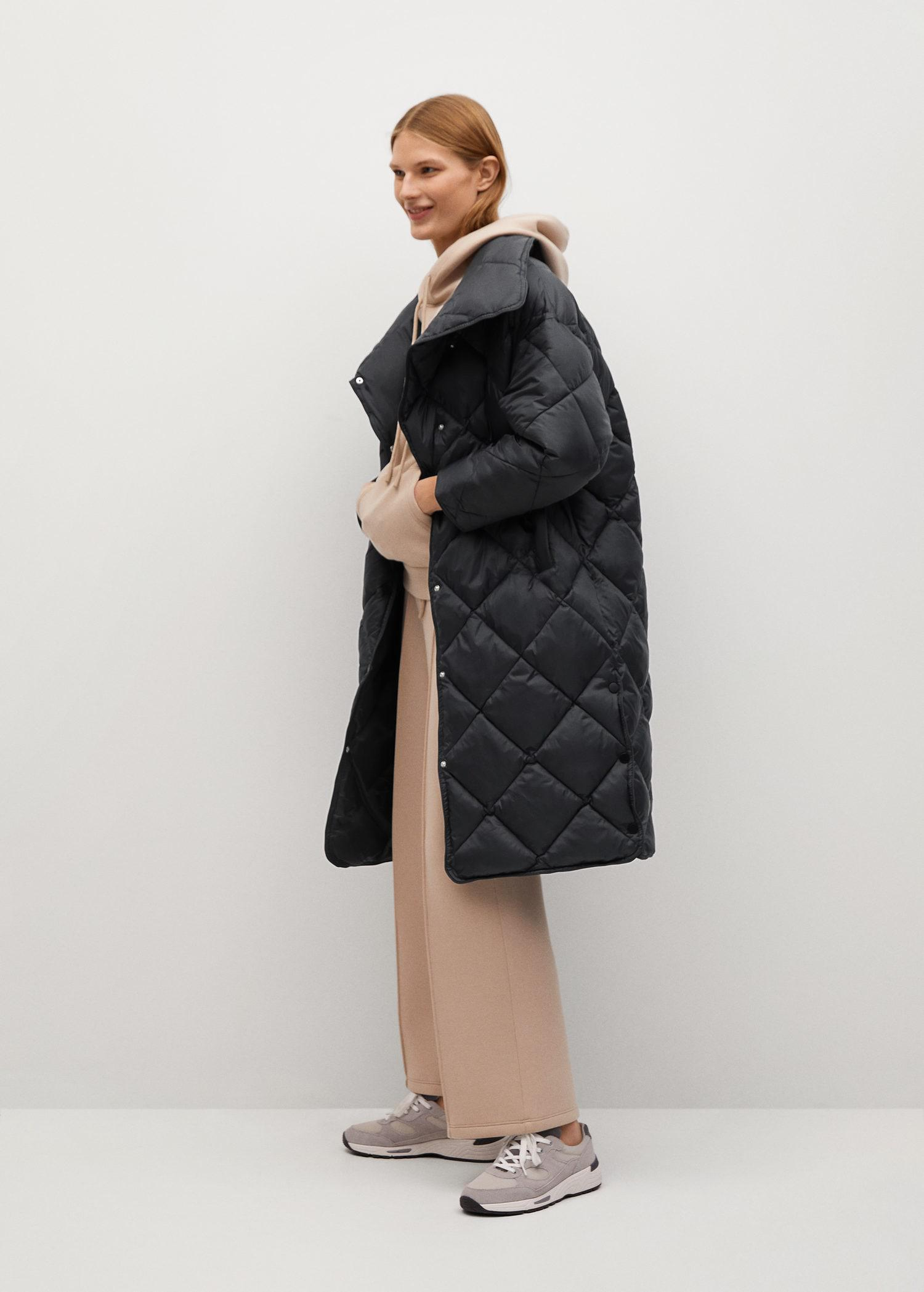 Oversize quilted coat 1