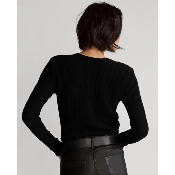 Cable Wool-Cashmere Sweater 1
