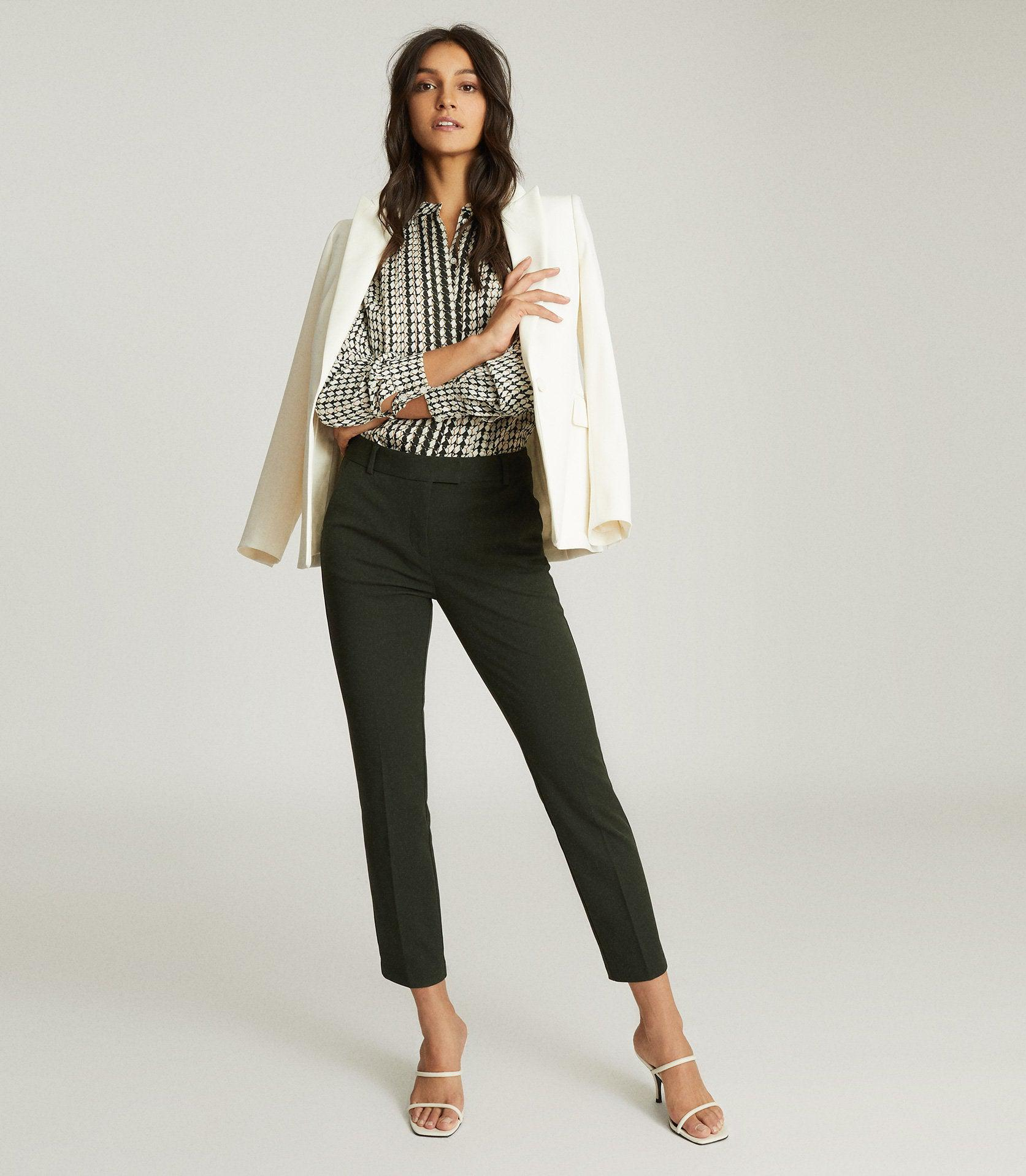 JOANNE - SLIM FIT TAILORED TROUSERS