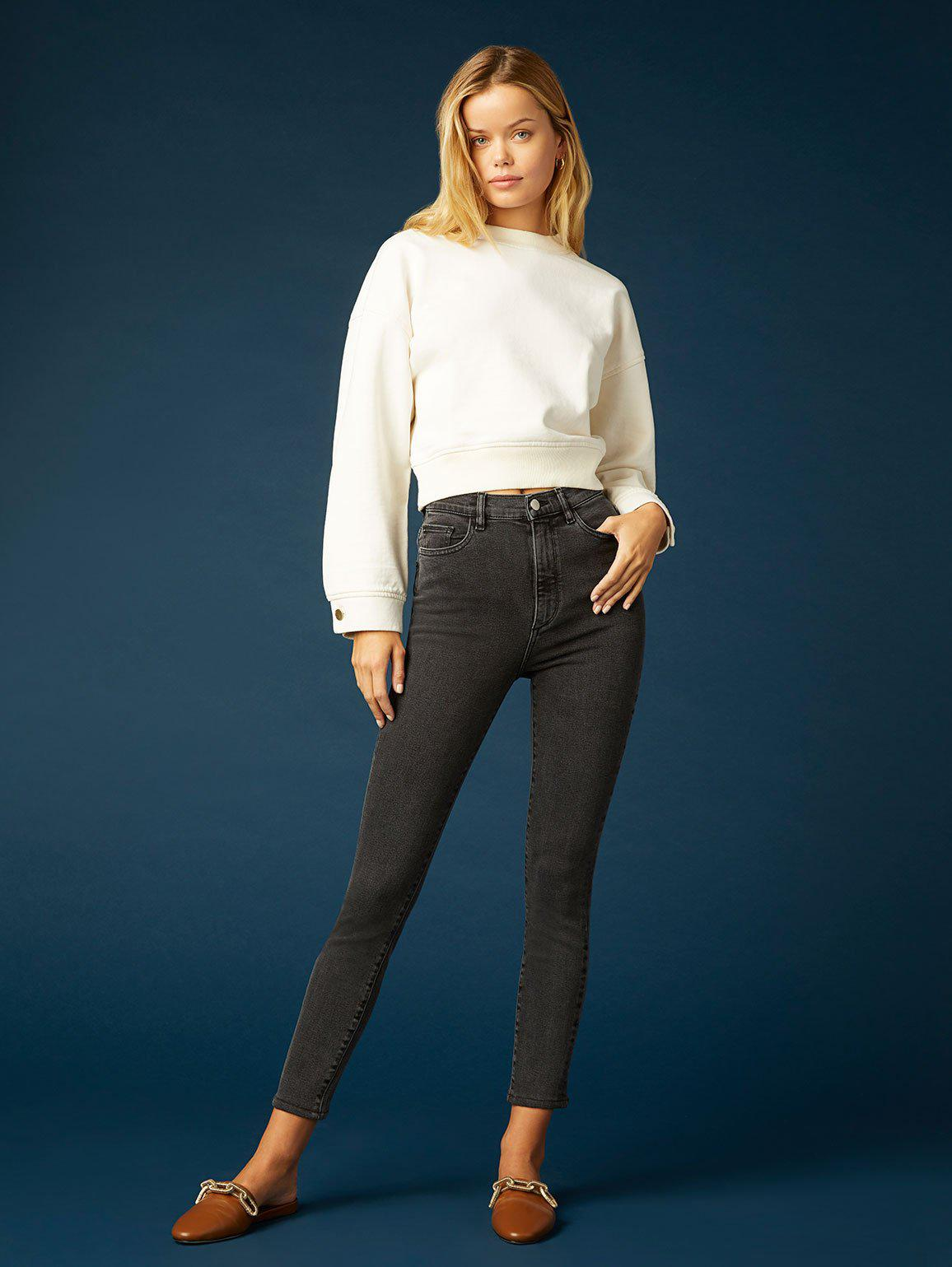 Farrow Skinny High Rise Instasculpt Ankle | Eclipse
