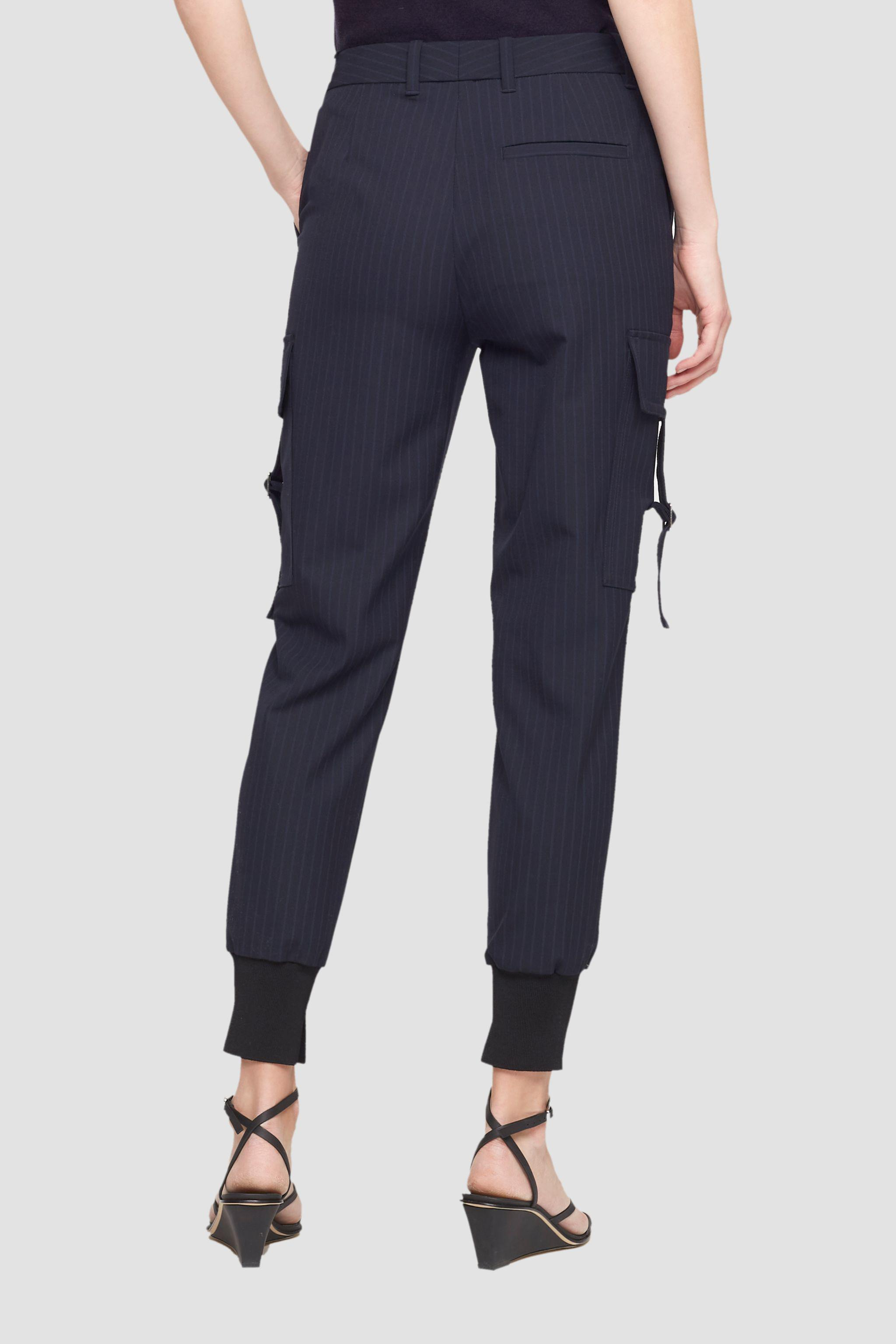 Tapered Pinstripe Jogger 3