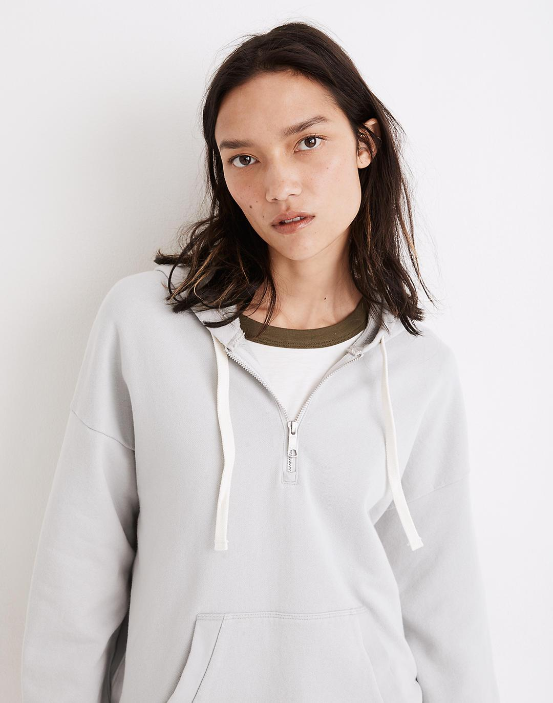 (Re)sourced Cotton Relaxed Hoodie Sweatshirt 1