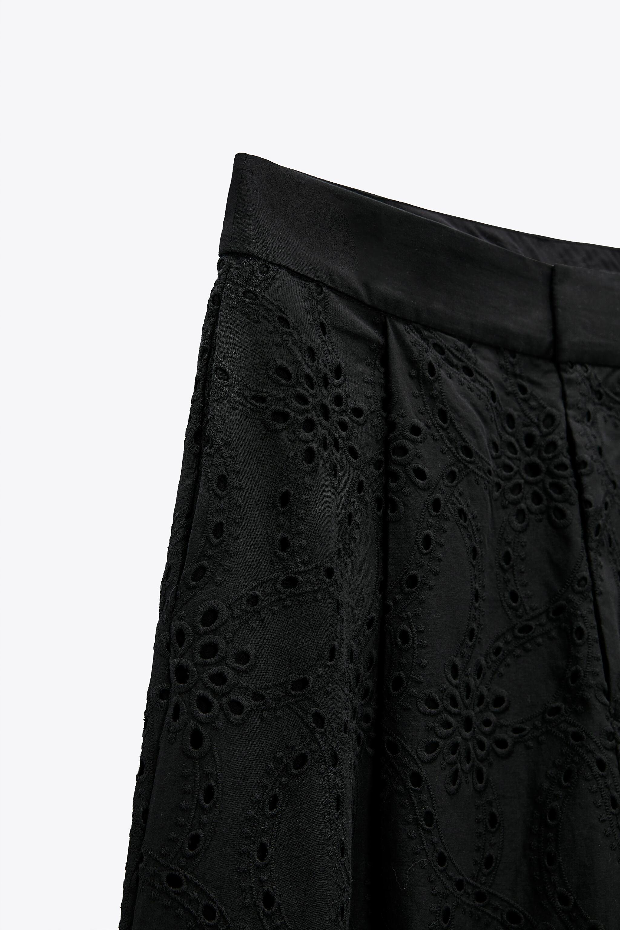 PANTS WITH OPENWORK EMBROIDERY 7