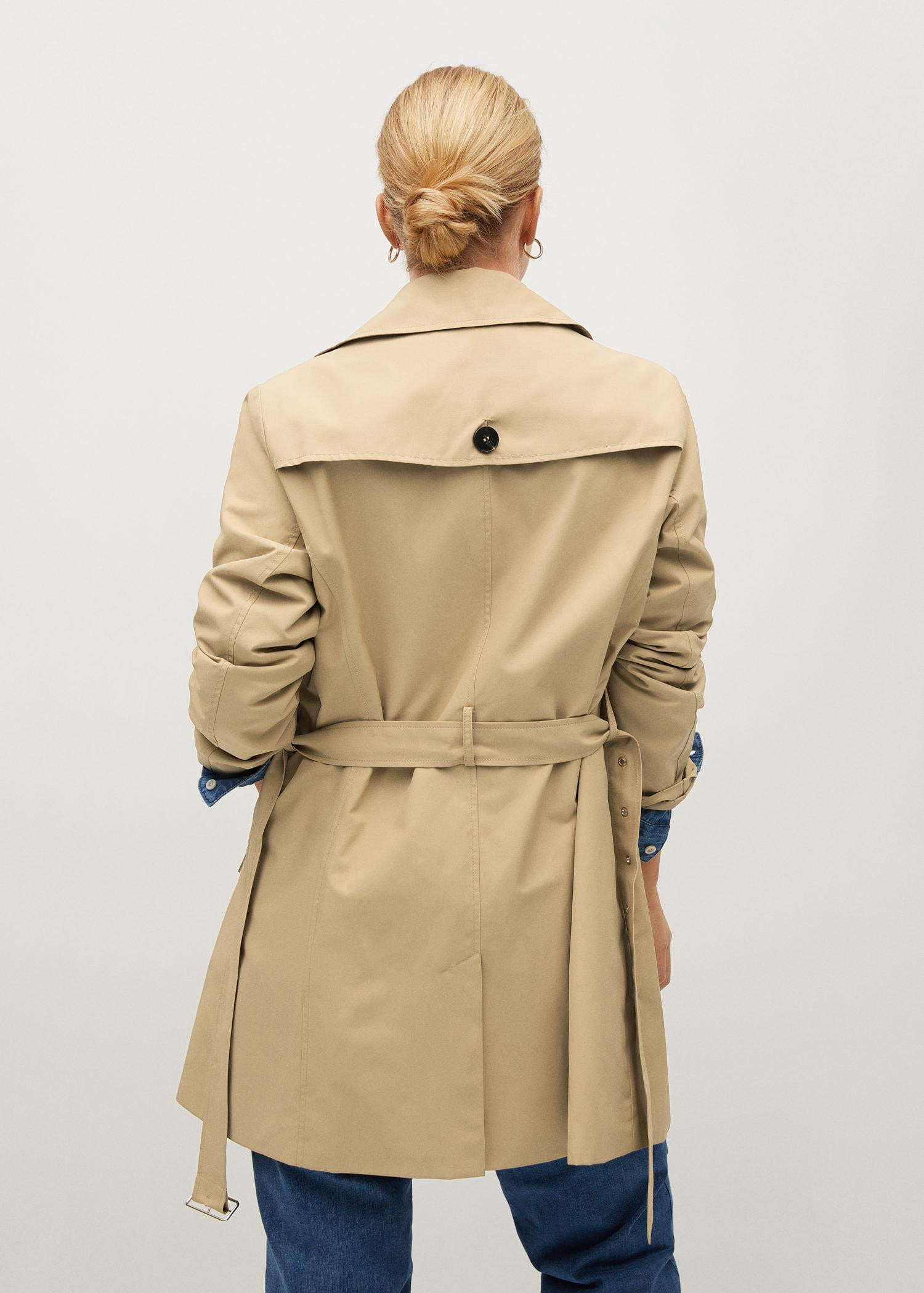 Classic belted trench 2