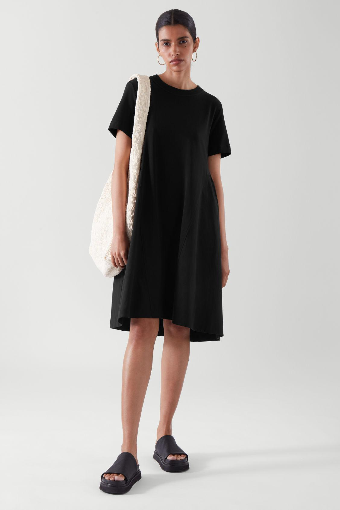 RELAXED-FIT T-SHIRT DRESS 1