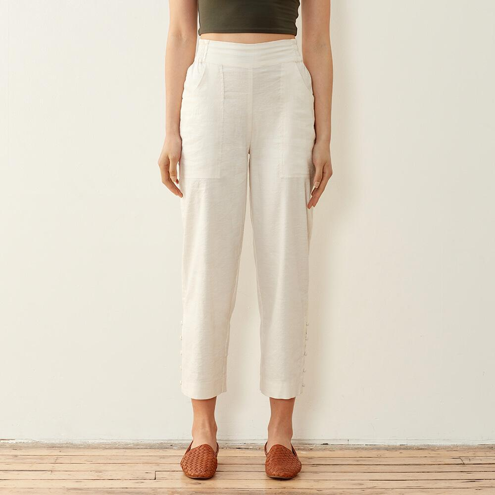 Plant And Chill Linen Pants 3