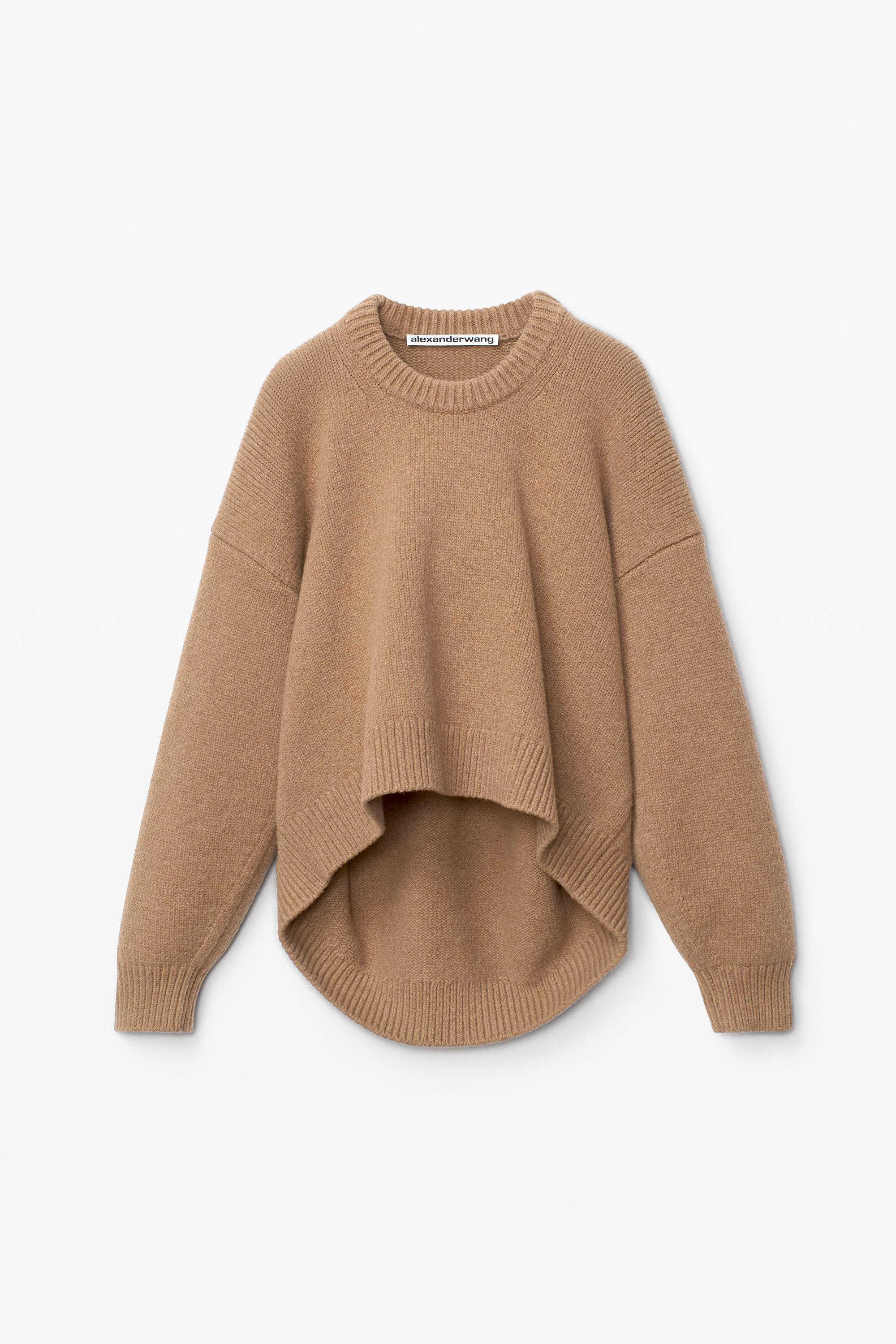 draped back pullover 1