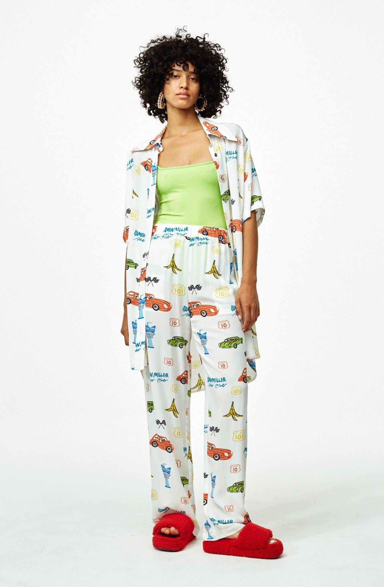 Shigedy Pant in Super Simon Miller World
