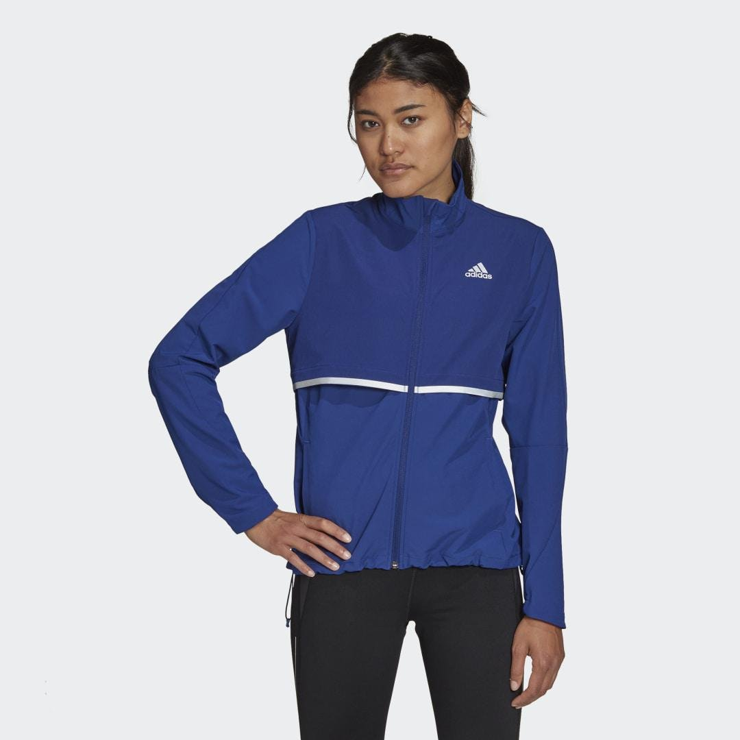 Own The Run Soft Shell Jacket Victory Blue
