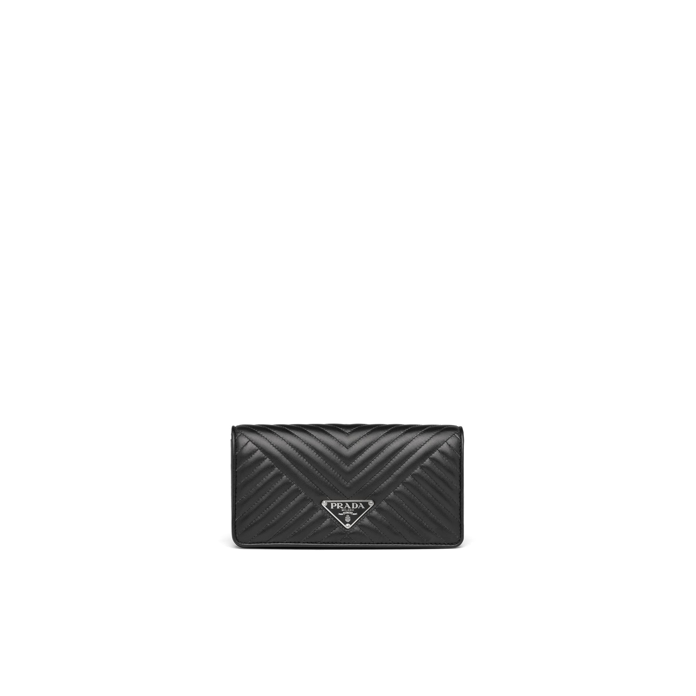 Quilted Nappa Leather Mini-bag Women Black